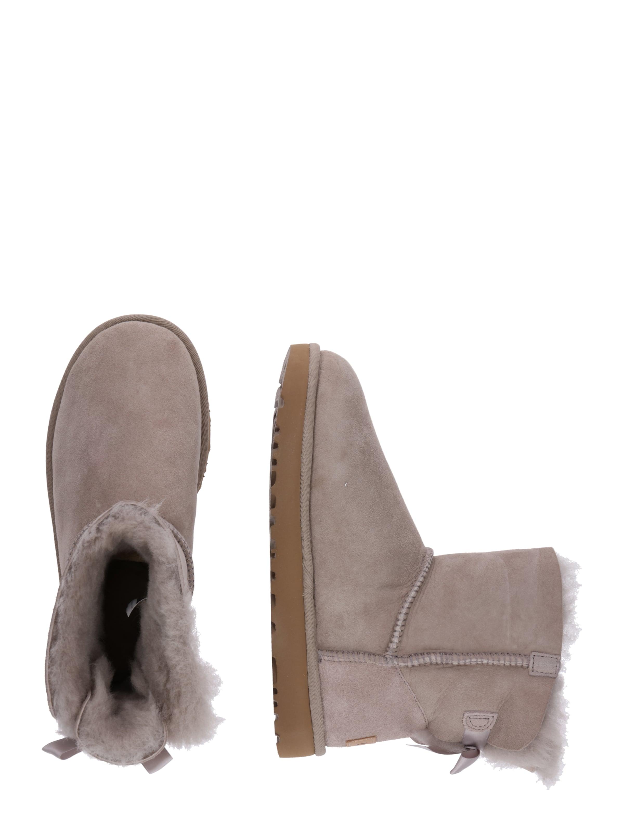 Bow En Ugg 'mini Ii' Boots Gris Bailey Ivf6g7Yby