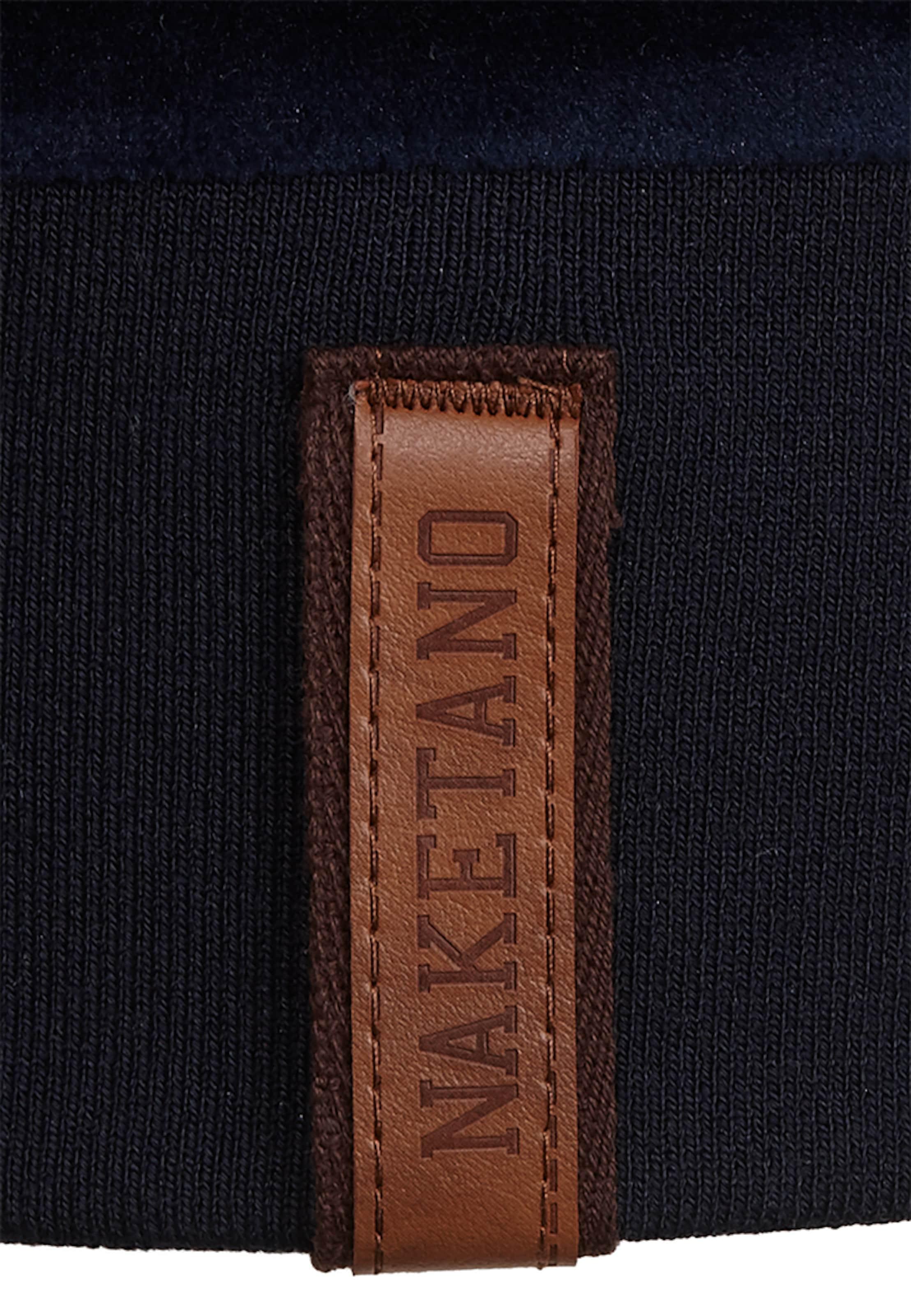 Dem Küchentisch' Pétrole Sweat En Naketano shirt 'auf c4jL5q3AR