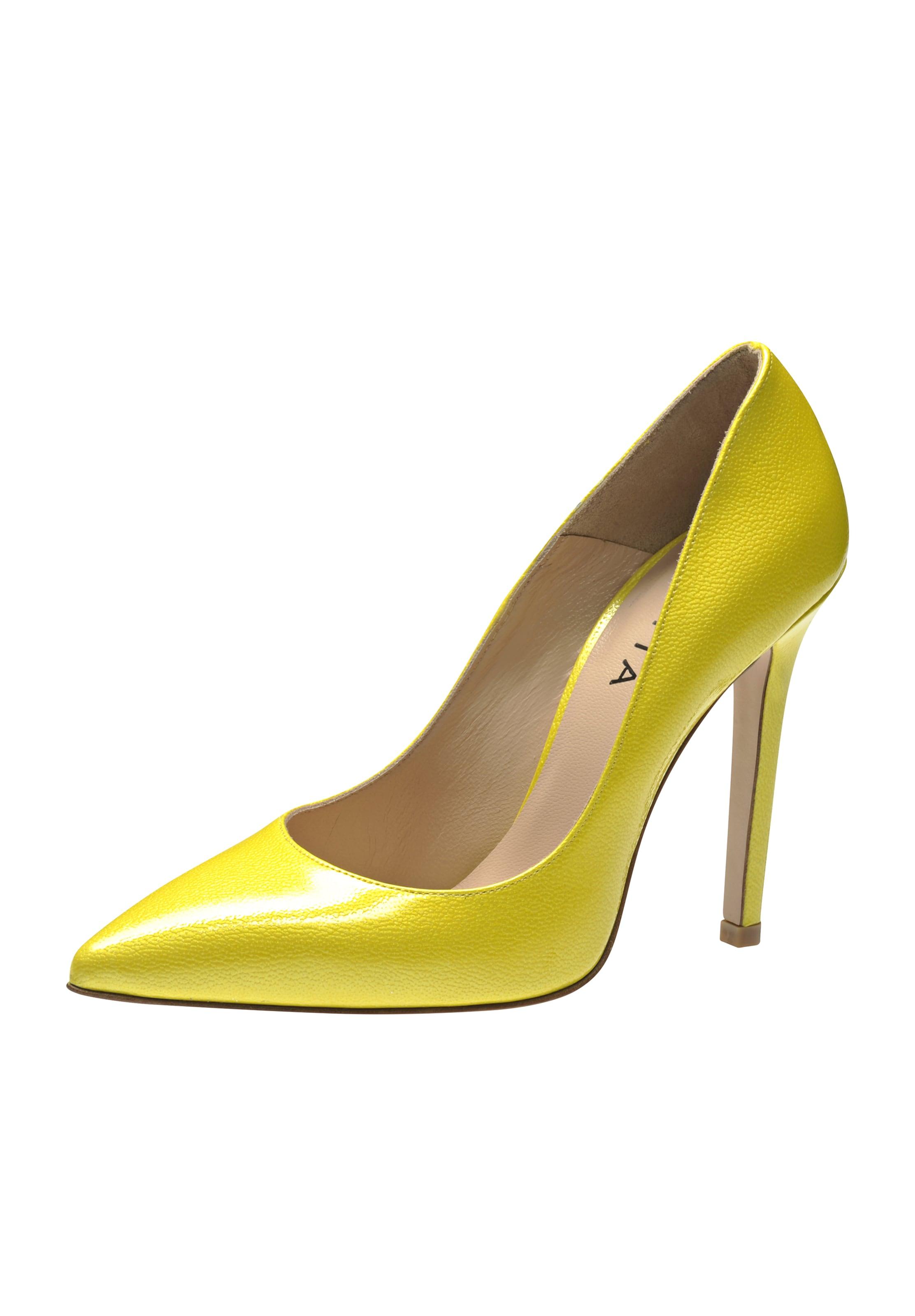 Escarpins Evita En Evita Escarpins En Citron Citron 54R3LAj