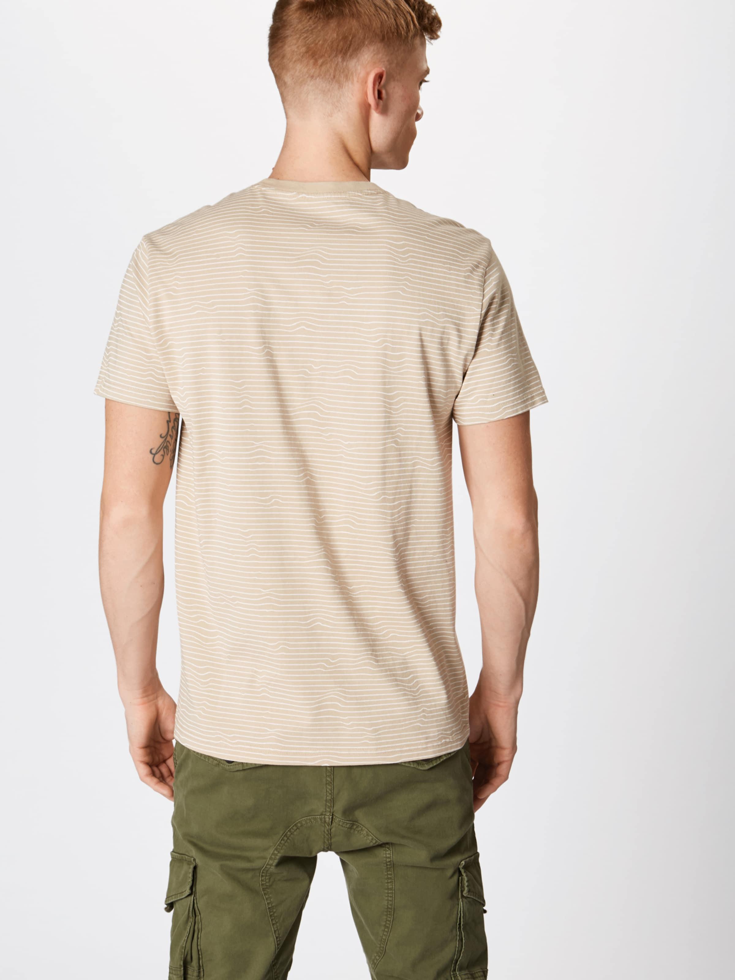T shirt Blanc Aop' Review Bump 'cn Cassé En PXO8n0wk