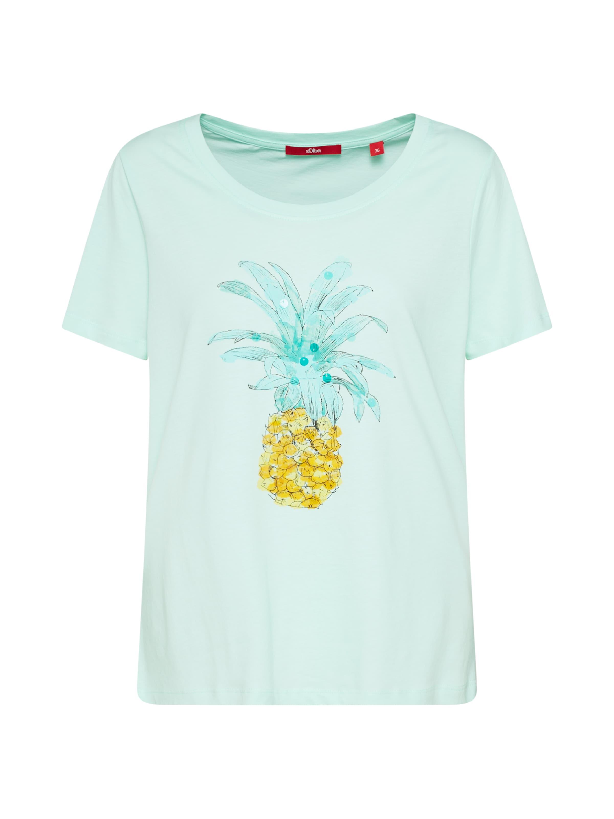 oliver Red shirt S Label Menthe T En BWdCoerx