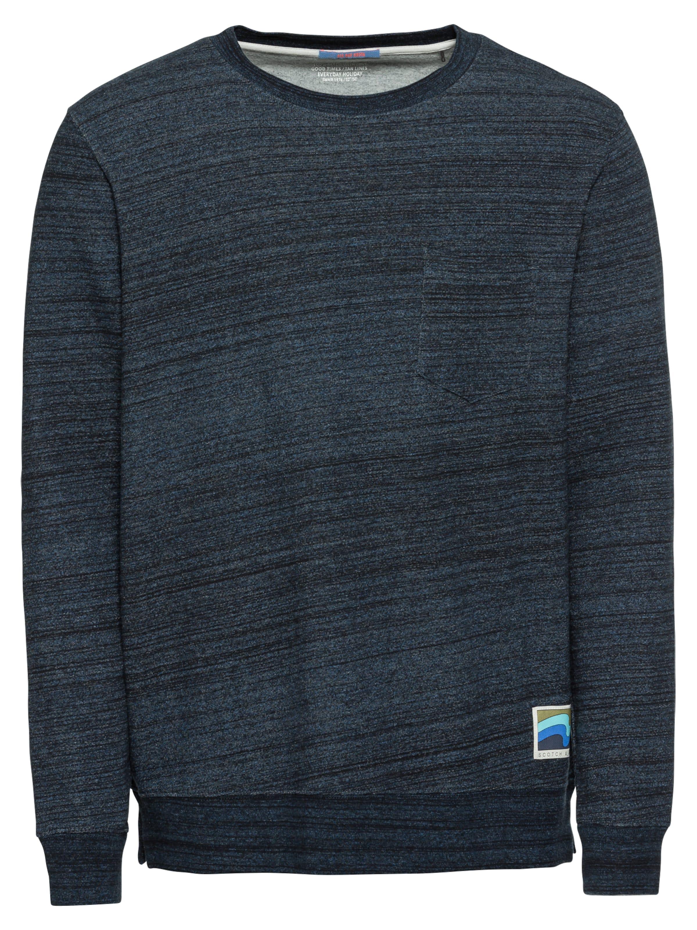 En CobaltNoir Chiné shirt Bleu Scotchamp; T Soda SVUzMp