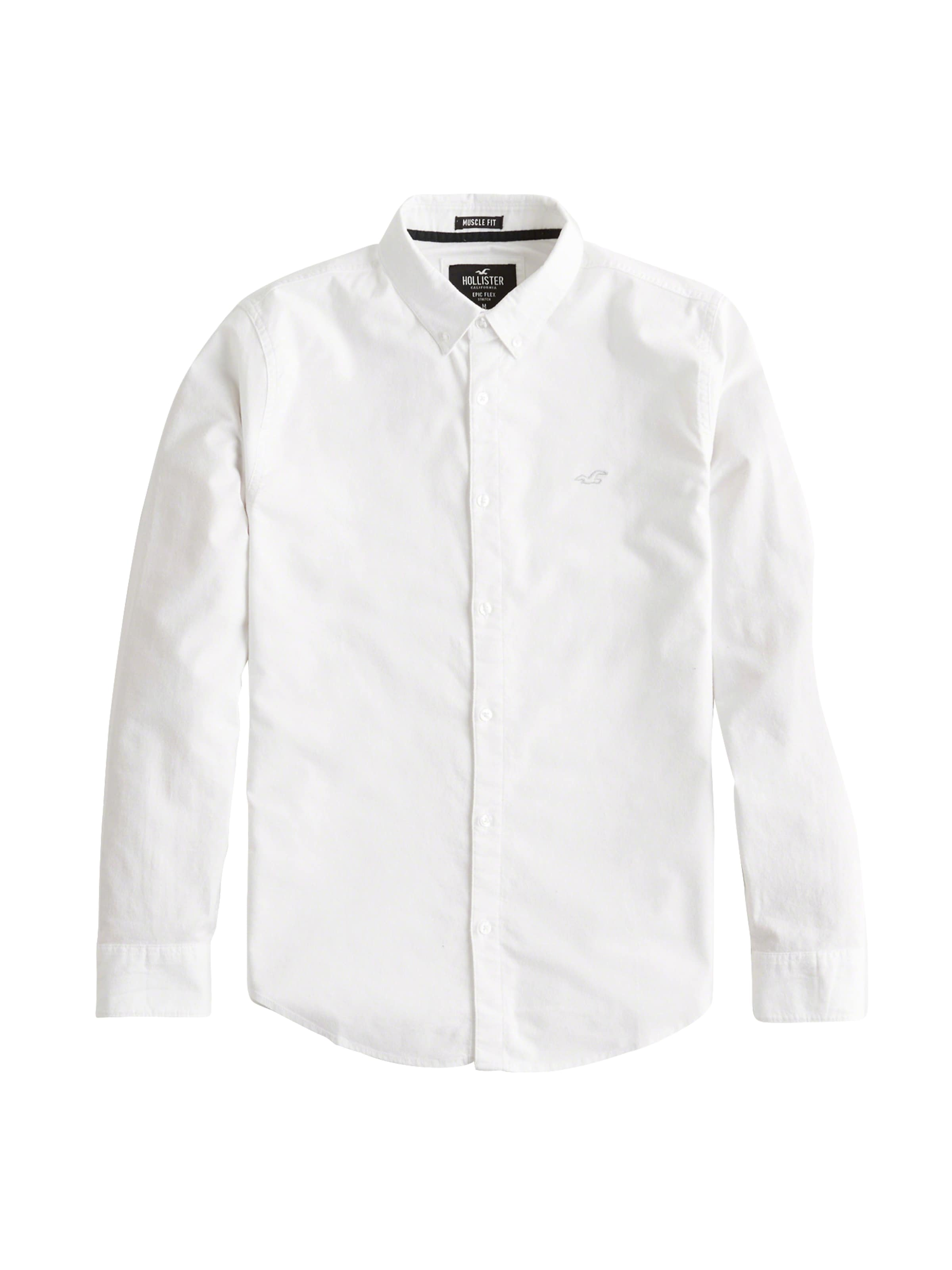 Hollister Chemise Blanc En Chemise Hollister En Blanc f7gb6y