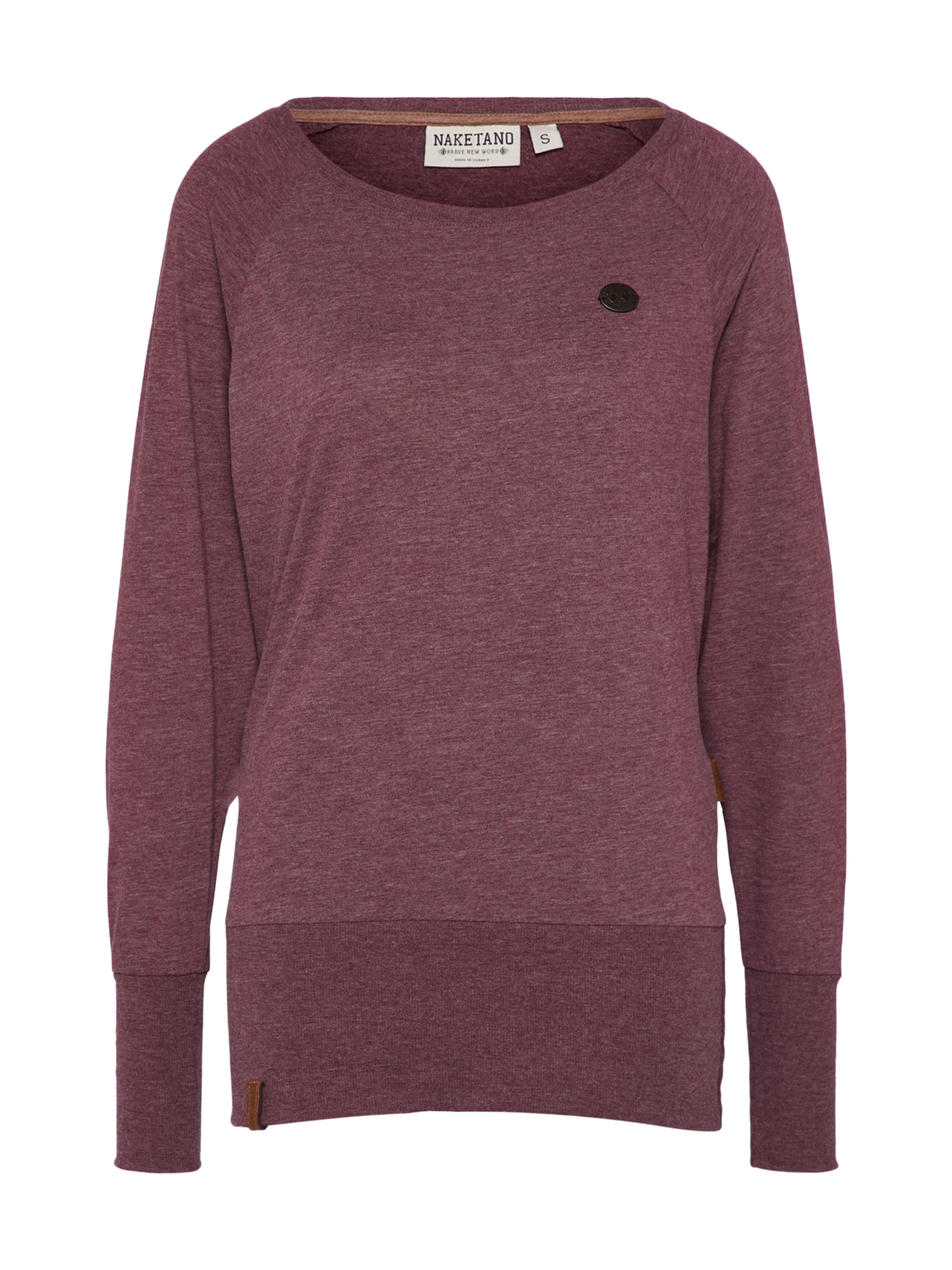 In 'groupie' Pullover Naketano Naketano Bordeaux In Naketano 'groupie' Bordeaux Pullover 2YWED9IH