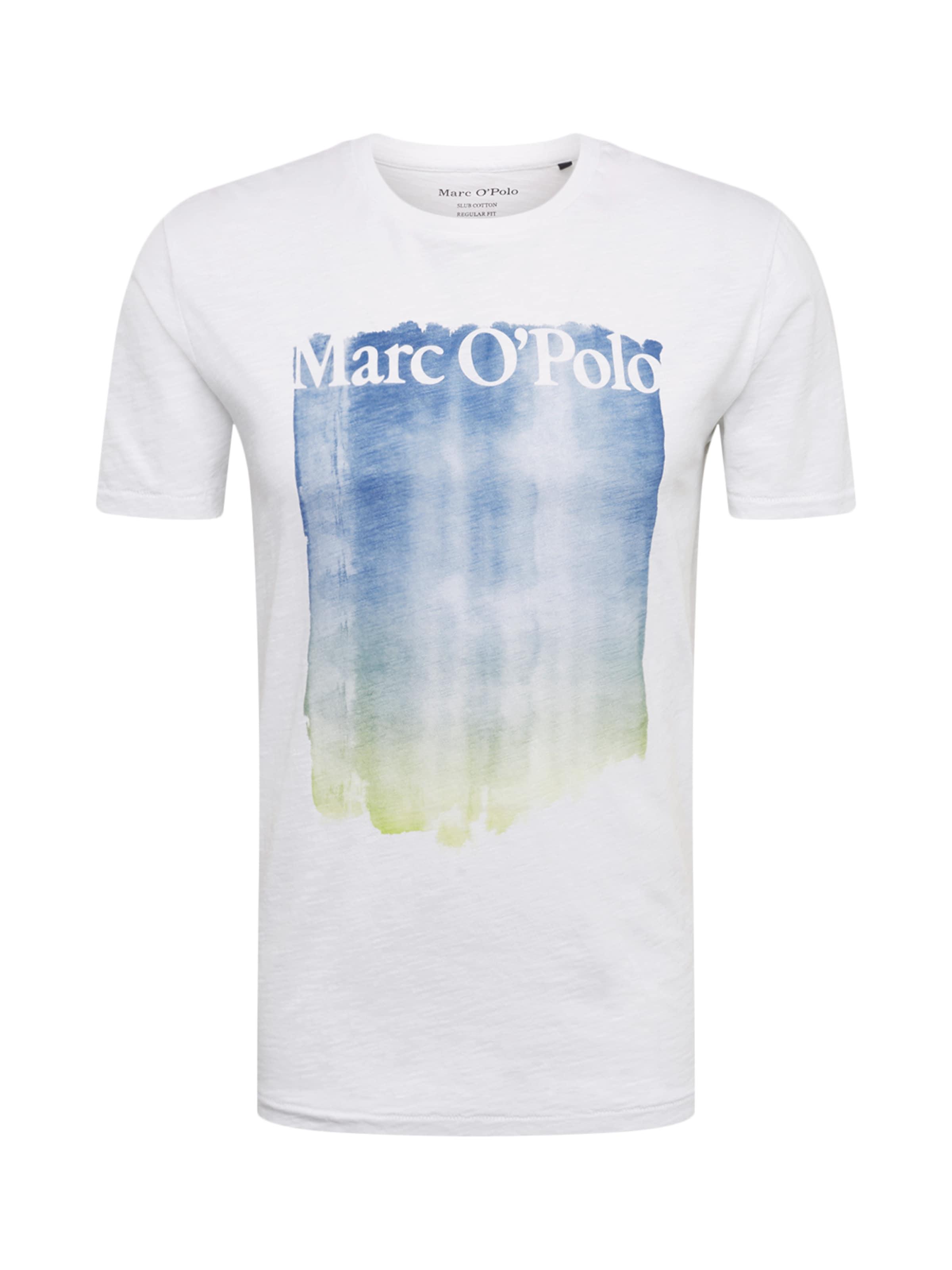 En Marc O'polo BleuBlanc shirt T 3lKJc1FT