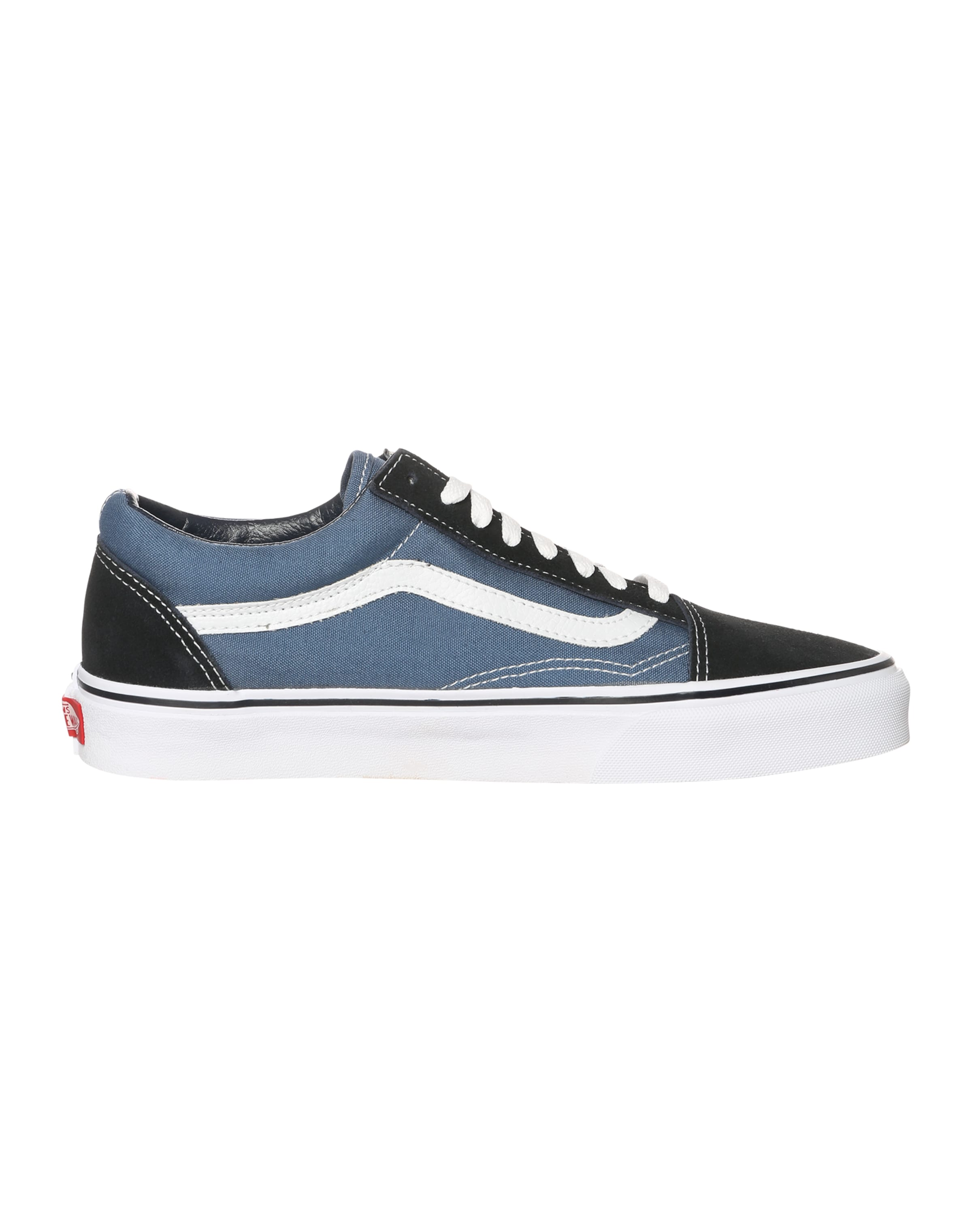 Baskets Blanc Skool' En 'old Vans MarineNoir Basses Bleu KclF1J
