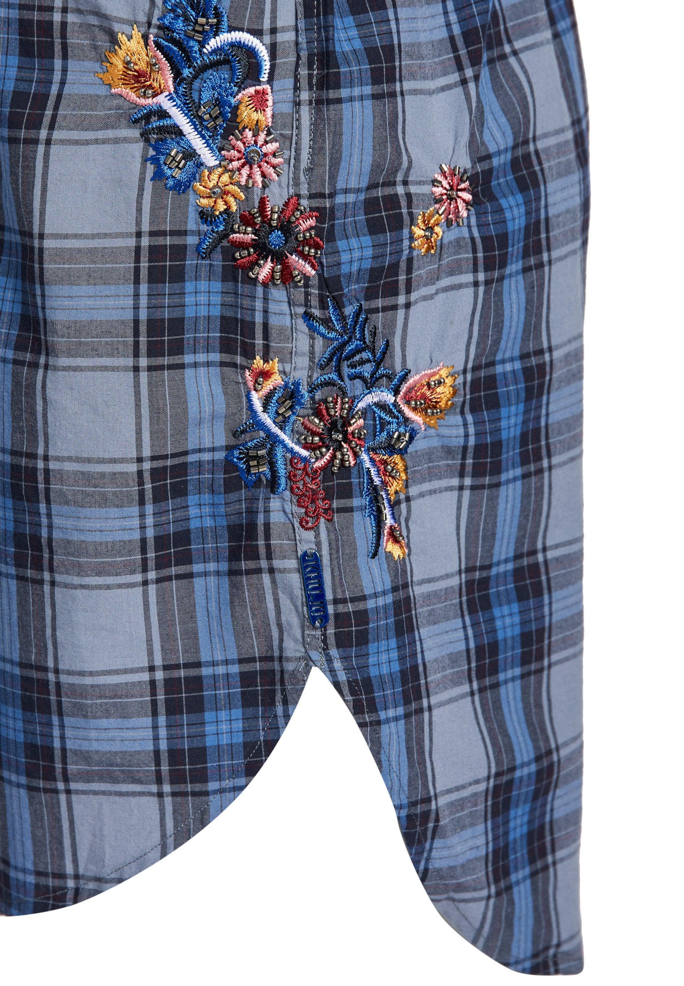 BleuJaune 'gyde' chemise Rouge En Khujo Robe AL543Rj