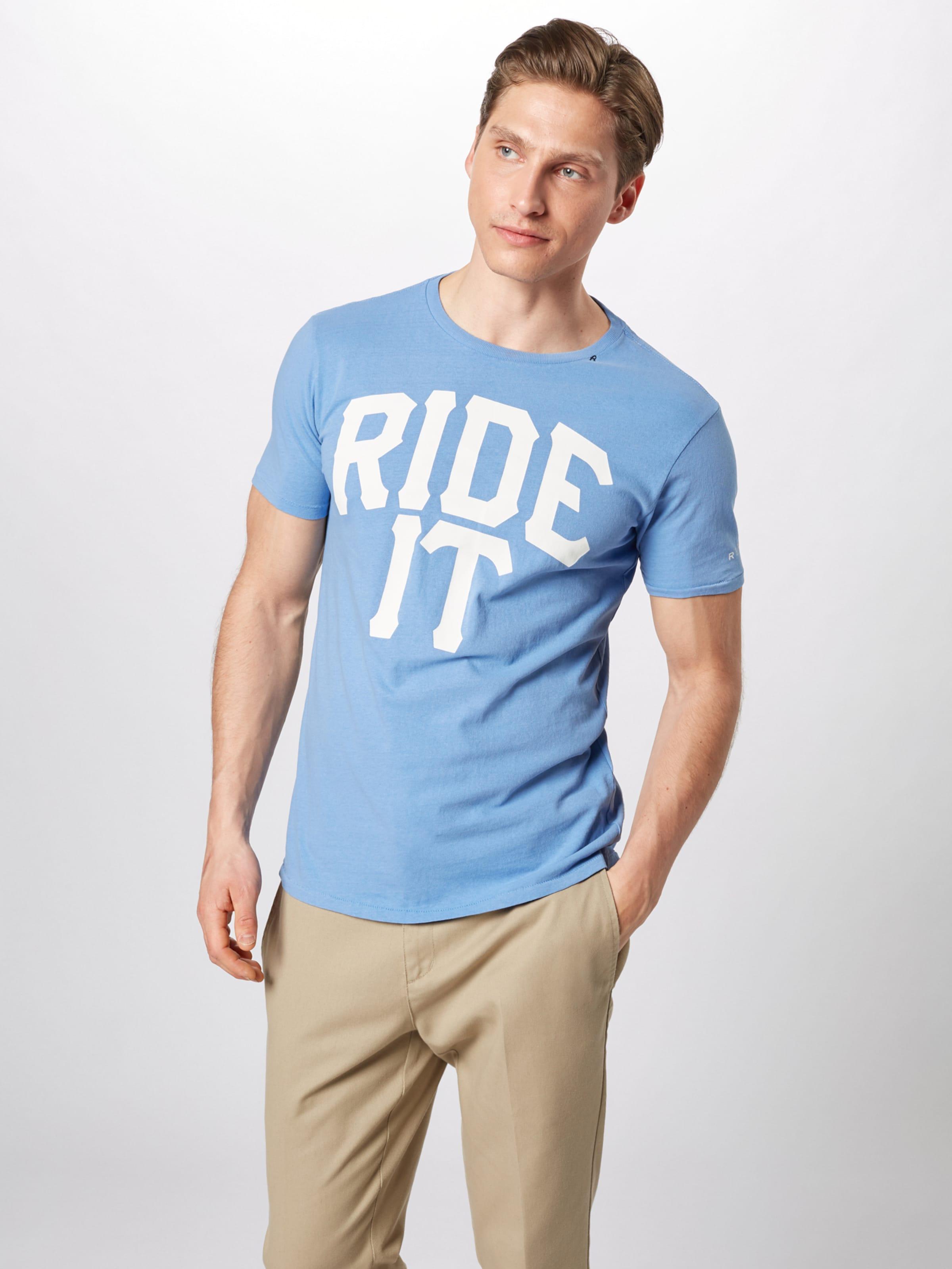 shirt shirt En CorailBlanc Replay T Replay CorailBlanc T En Replay pMVSUz