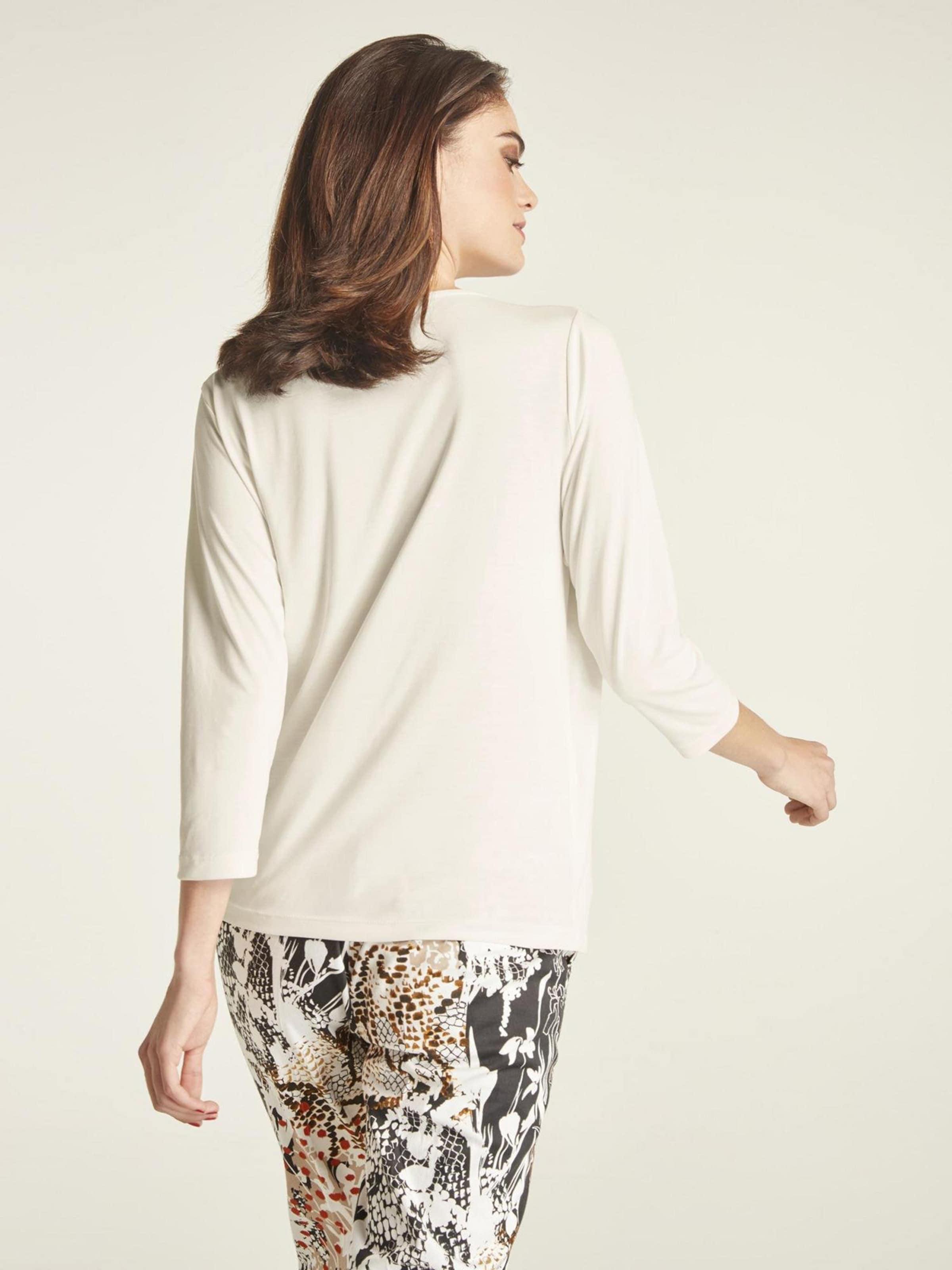 T Cassé Heine shirt Blanc En FlTJcK13