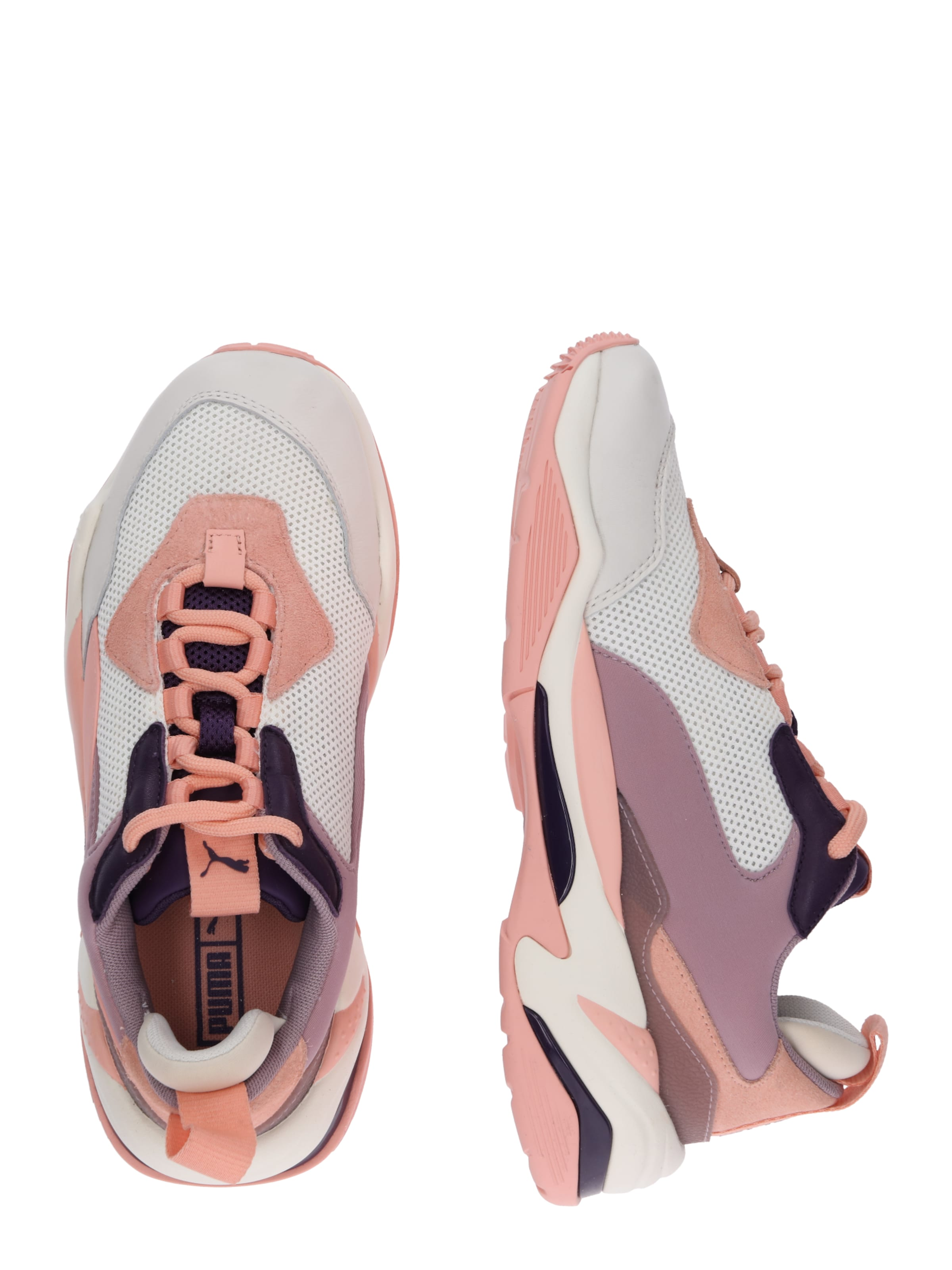En 1' Puma Basses 'thunder Baskets Fashion AuberginePêche Rose Blanc 354RjLqcAS