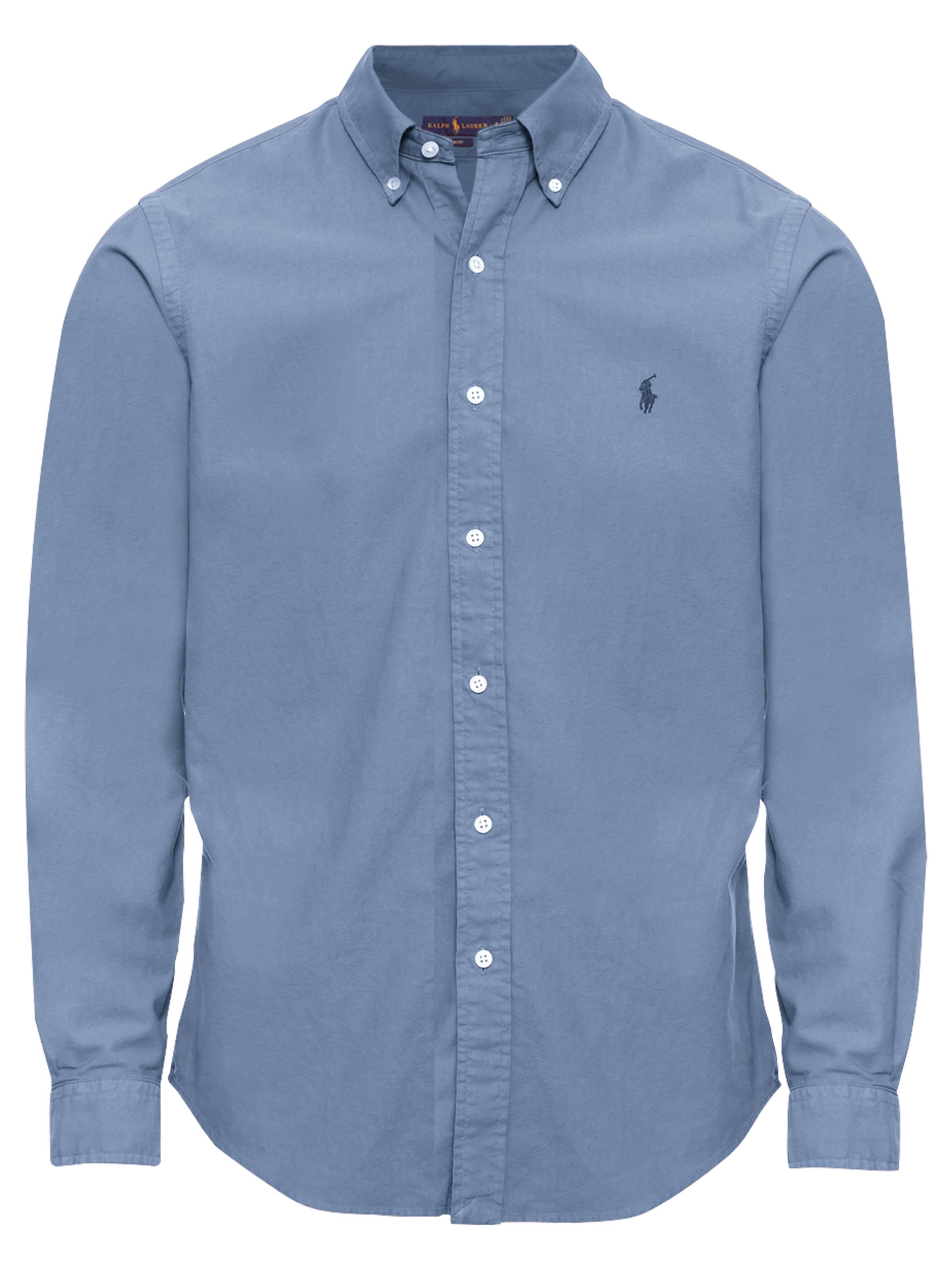Lauren Vert Ppcspt long Shirt' 'sl sport Ralph Polo En Bd Sleeve Chemise VpGqzSUM
