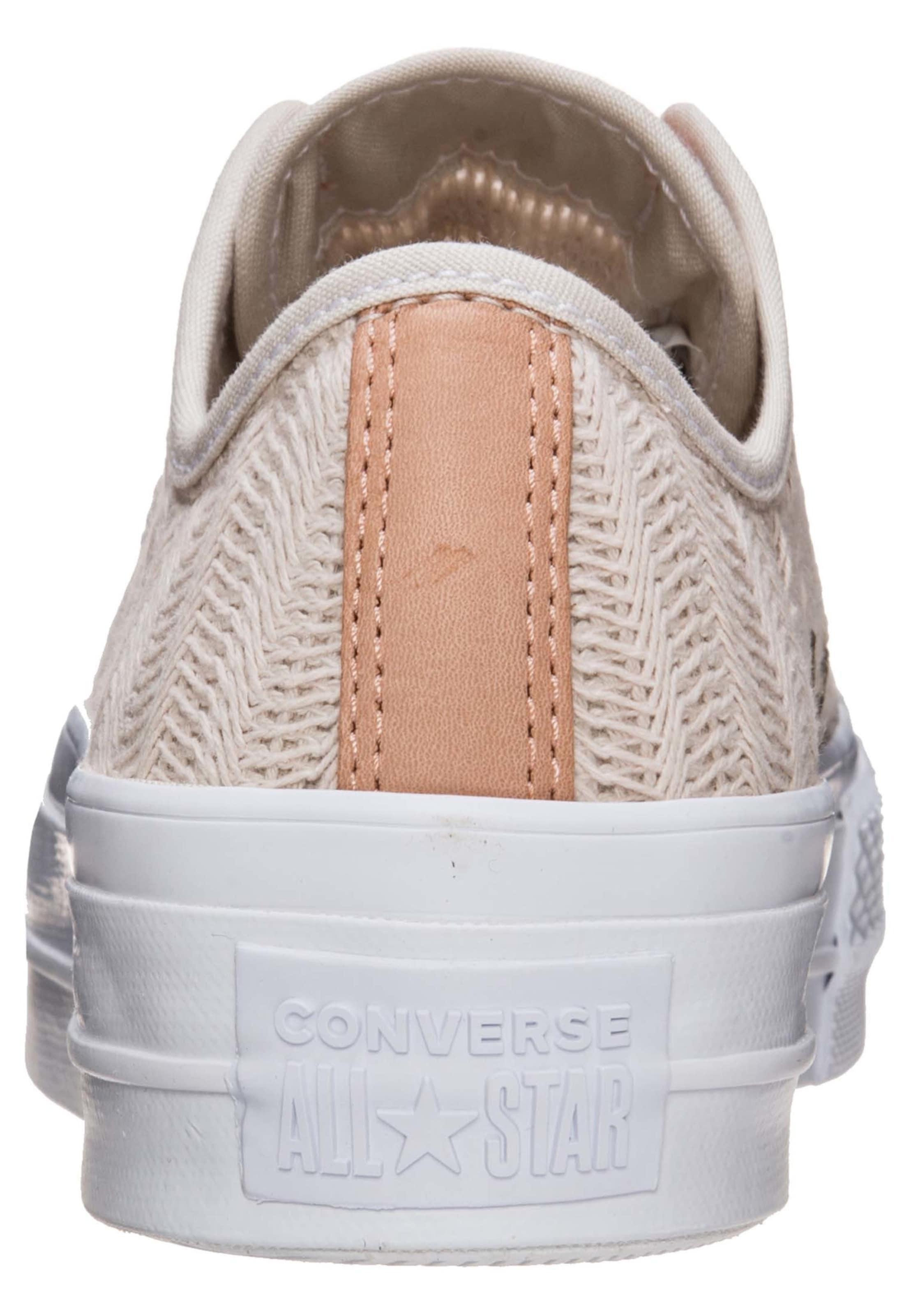 Converse Basses Lift Ox' All Beige 'chuck Star En Baskets Taylor ikuPXZ