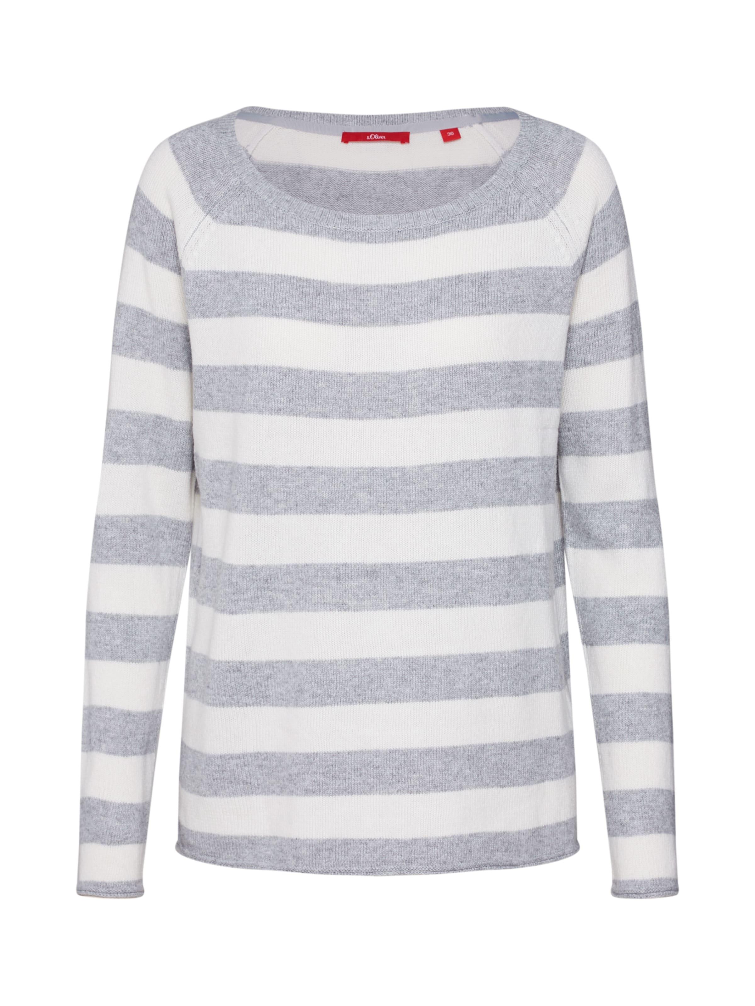 Label Red oliver S GrauWei Pullover In lFKc1J