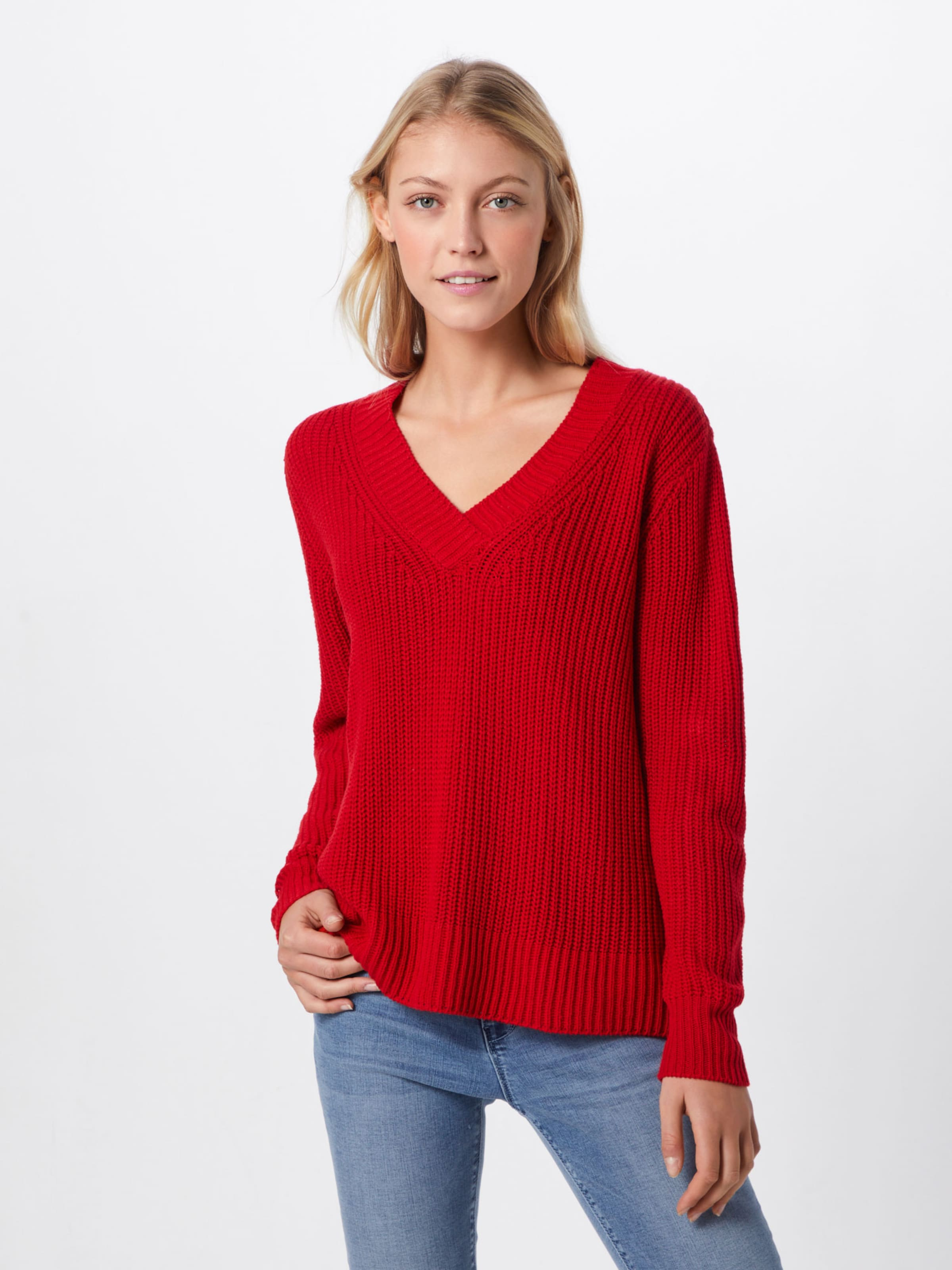 Pullover 'pcsalia' Pieces In Pullover Pieces Rot 'pcsalia' Rot In gyf67b