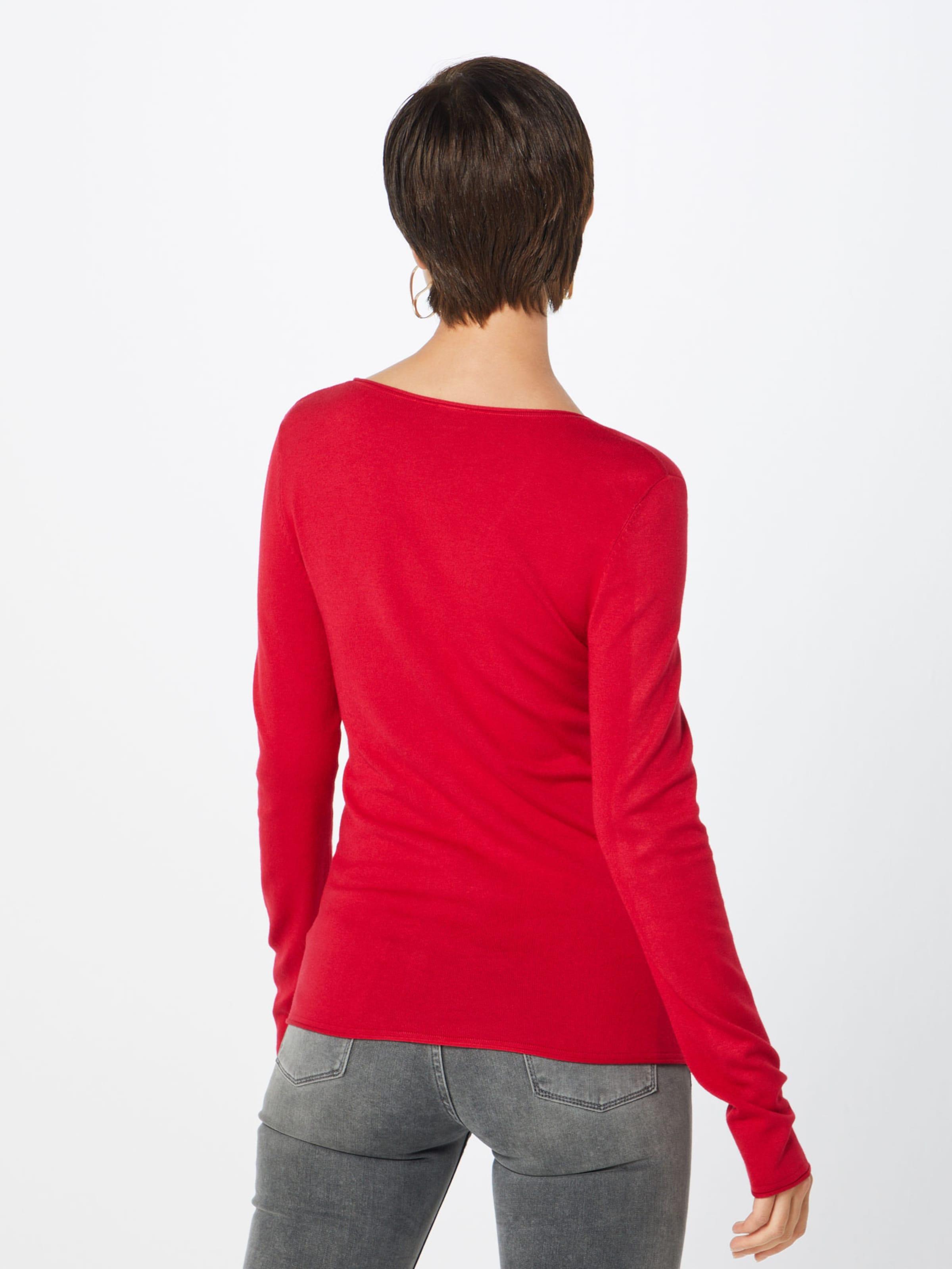 Label Black Pullover In S oliver Kirschrot VpMGqSUz