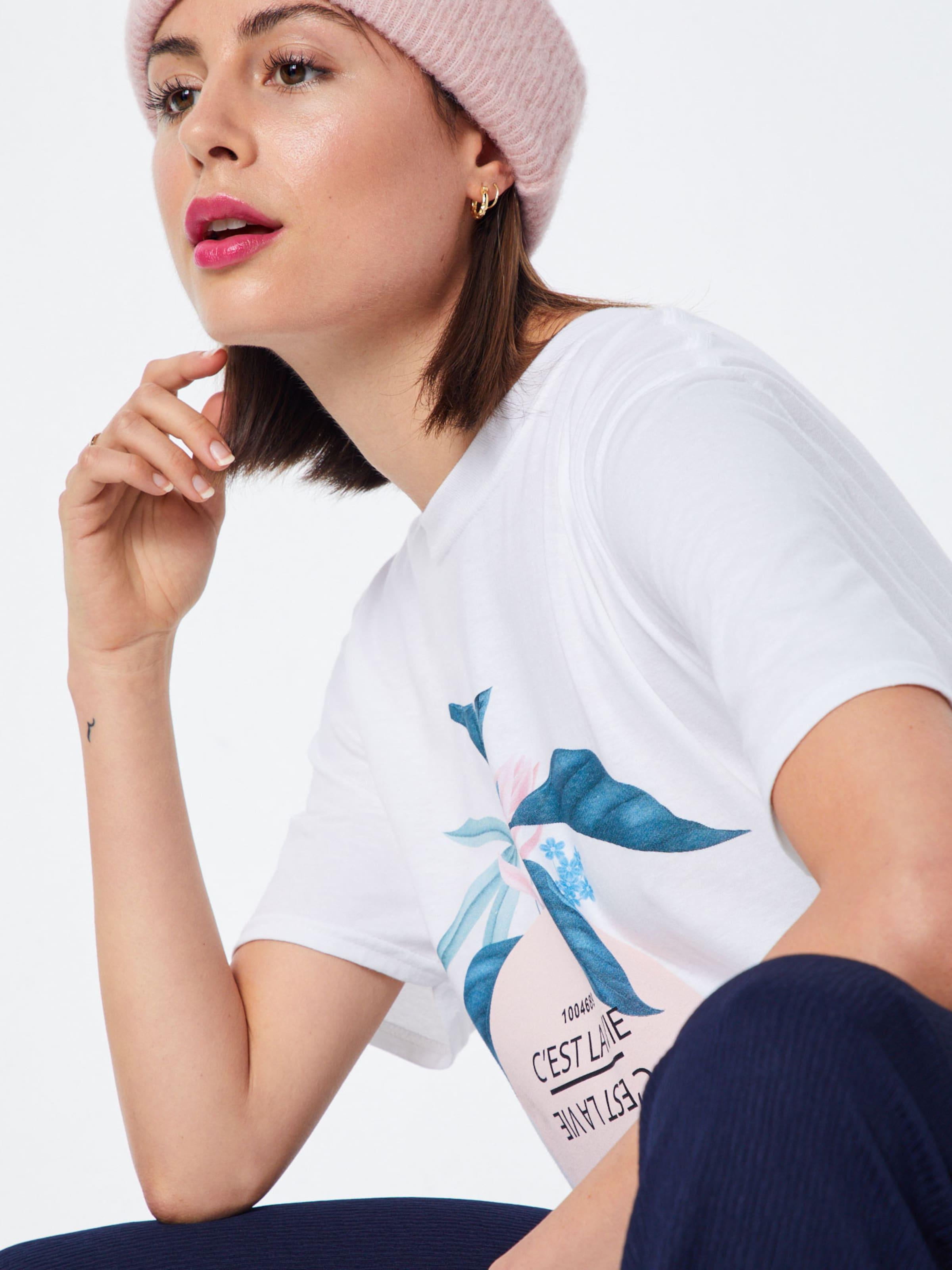 Blanc En 'c T shirt La Fruit' Missguided Est BleuRose Vie SMqUpzVG