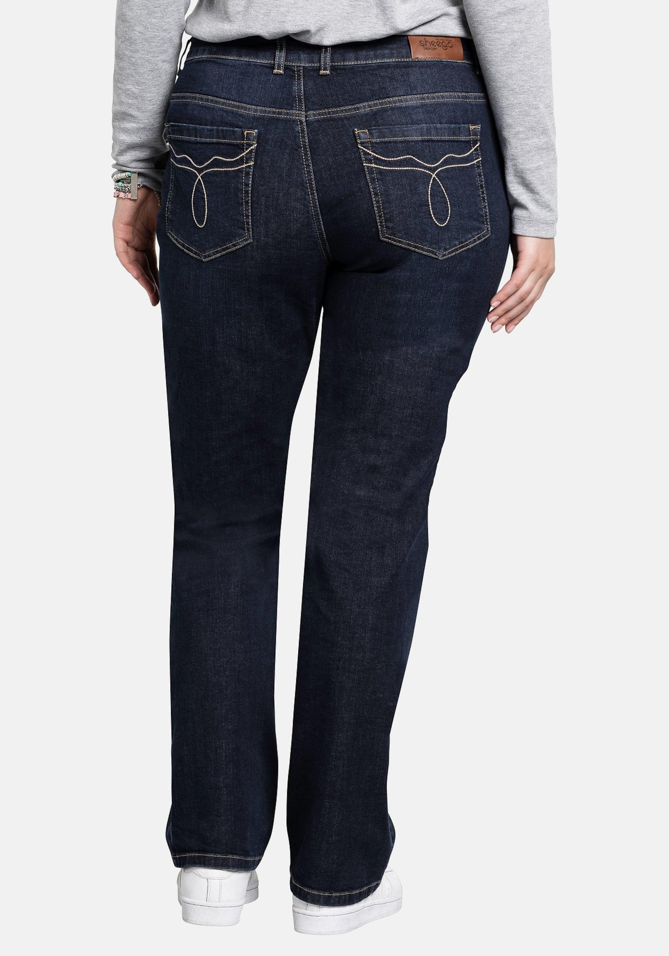 Dunkelblau Sheego Jeans Jeans 'lana' 'lana' In Sheego In 80wkNnOPX