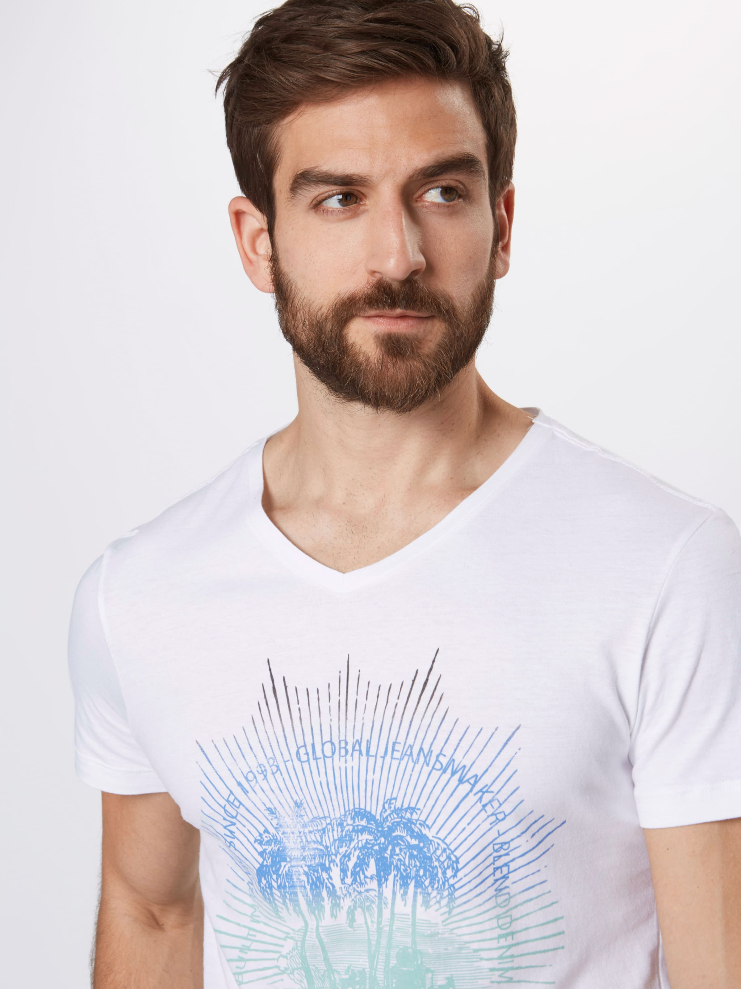 En T De CouleursBlanc Mélange Blend shirt S3RjL54Aqc