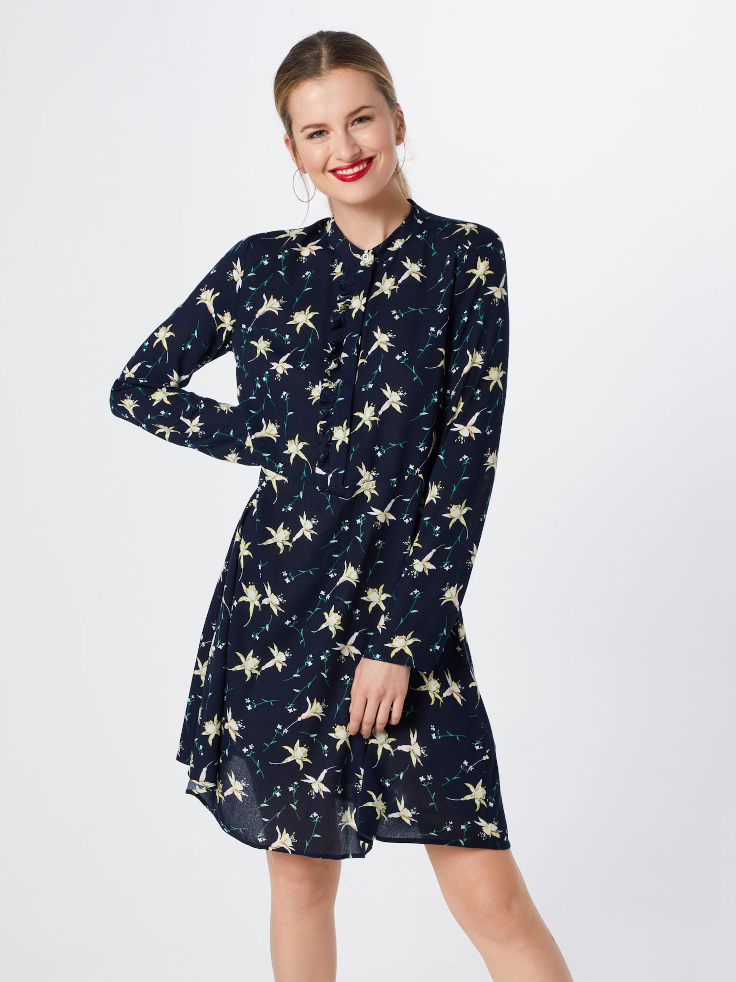 En Marine Vila Bleu chemise Robe 'alitta' YW9EH2IeD