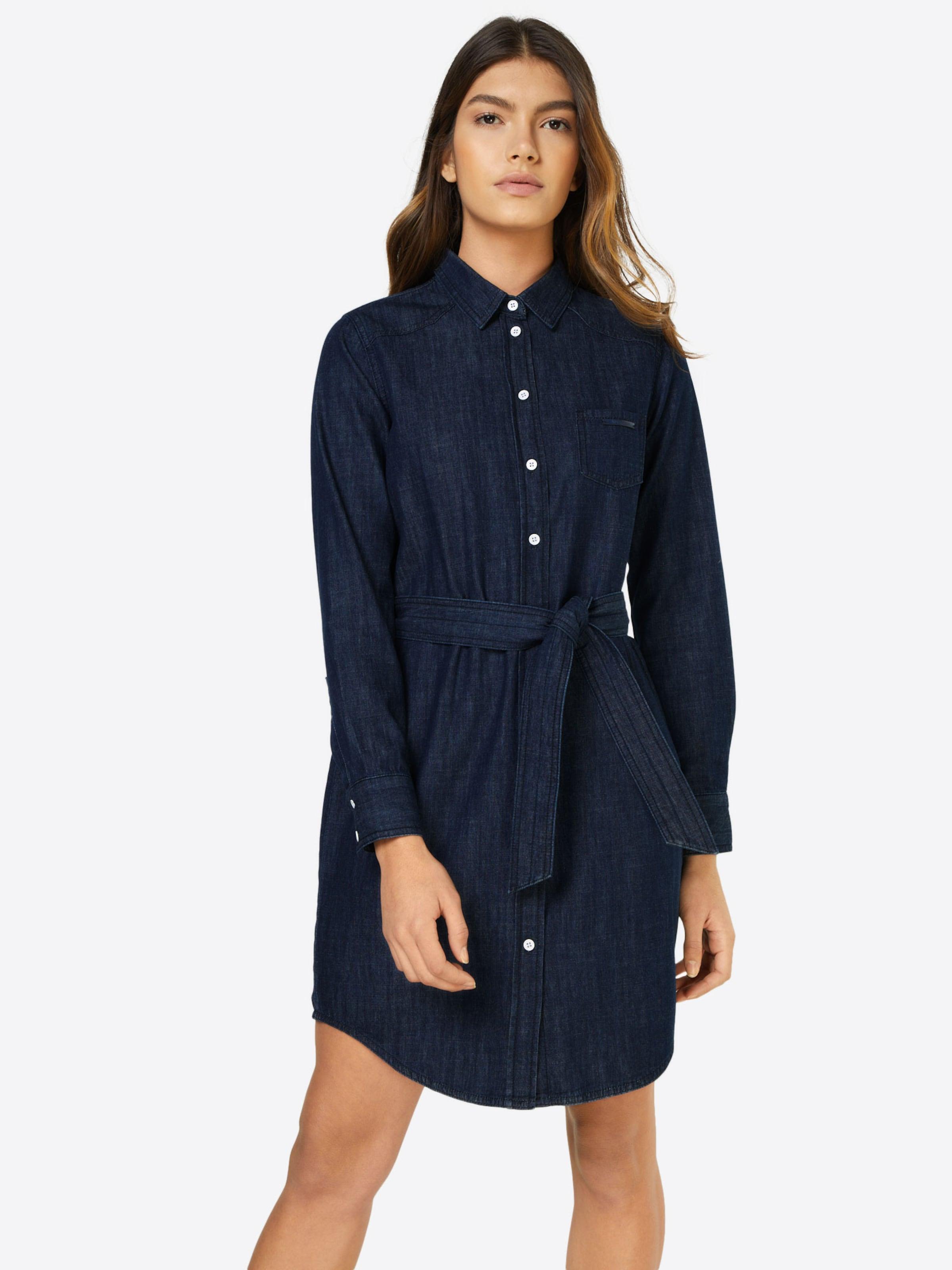 Yong 'esra' Denim De chemise Jacqueline Robe Bleu En 0wOPX8Nkn