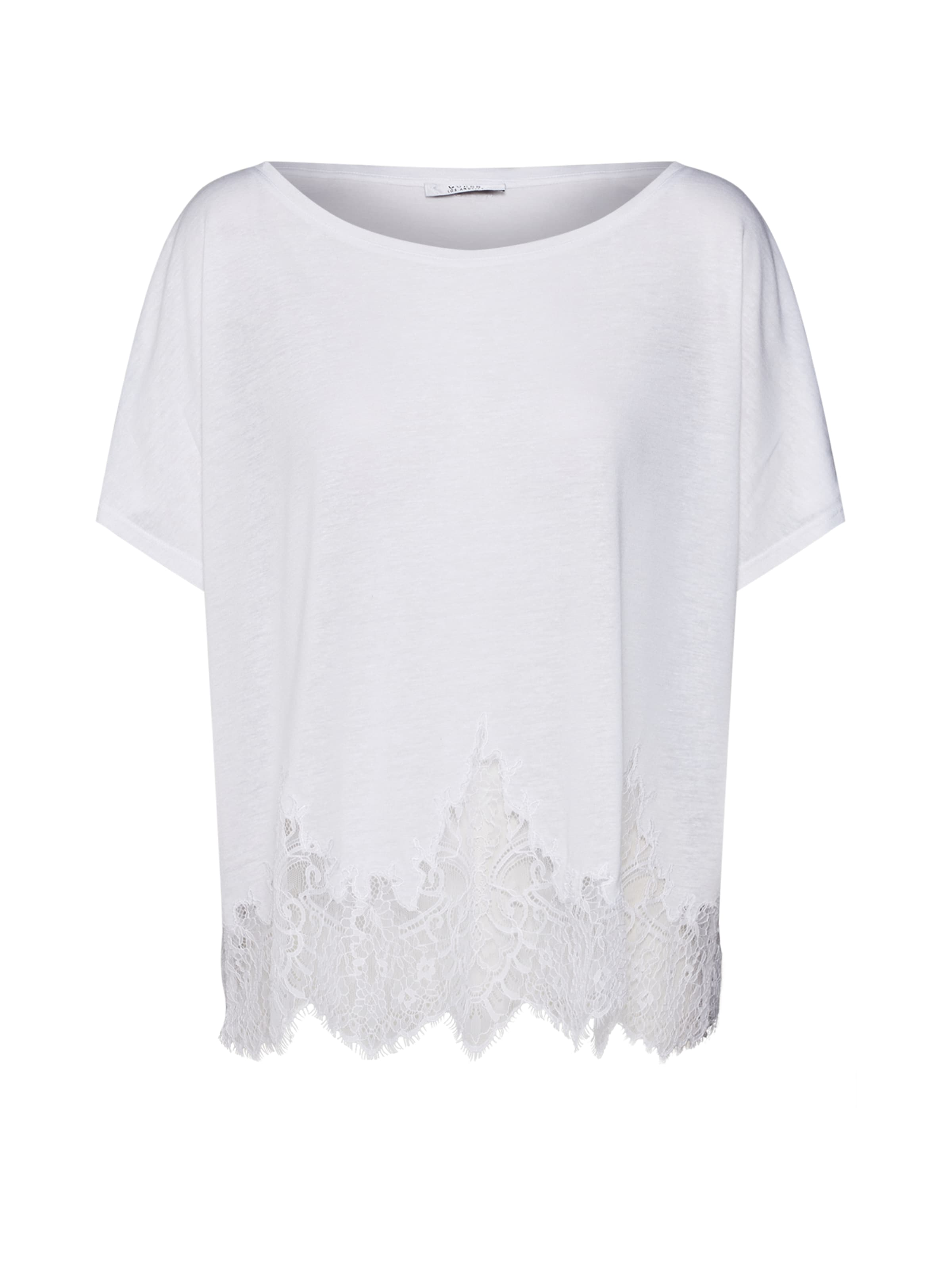 T Guess 'nara' En Blanc shirt Ybf6gvI7ym