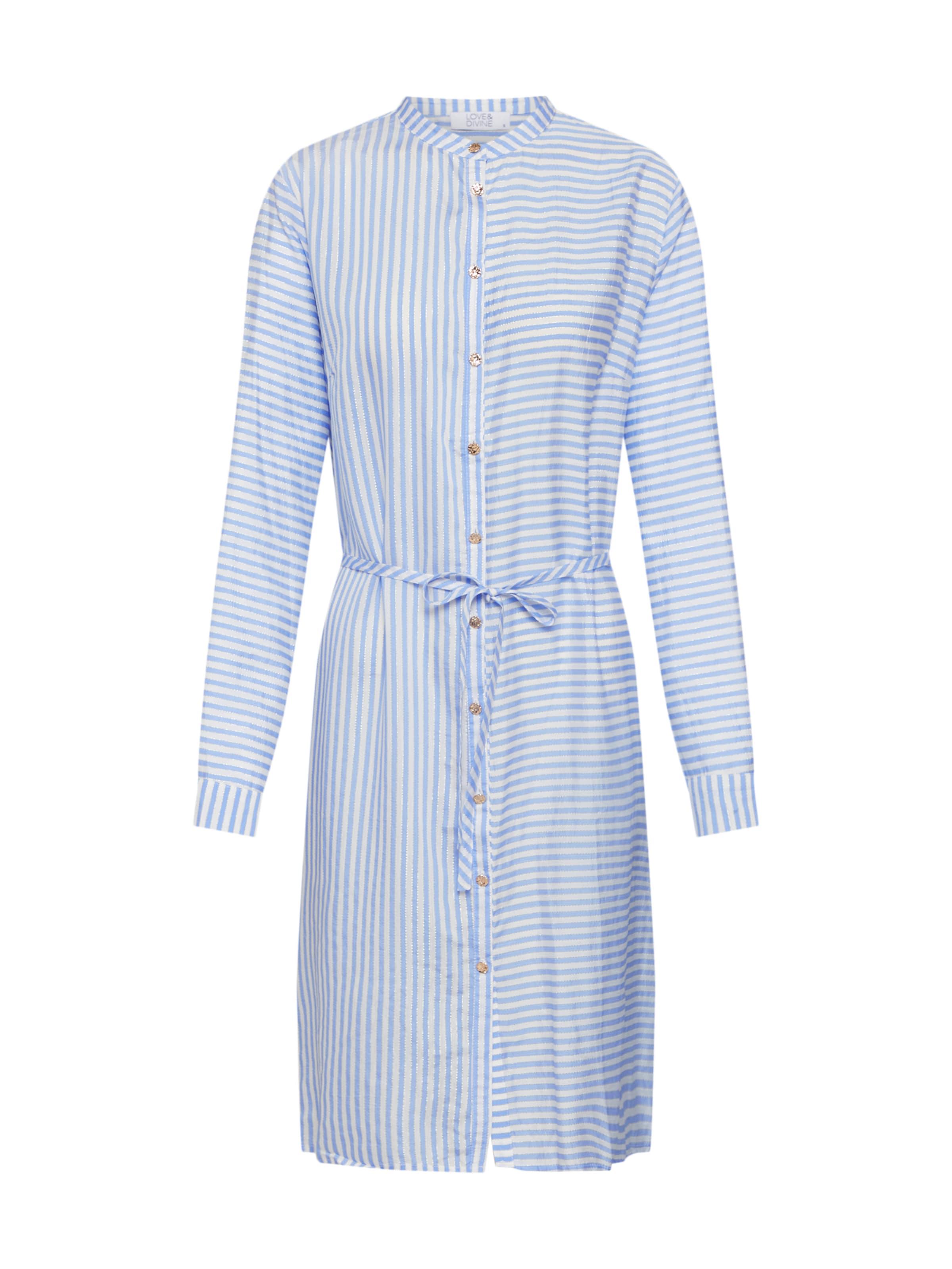En chemise Divine Robe 'love344' BleuBlanc Loveamp; dCroeWxB