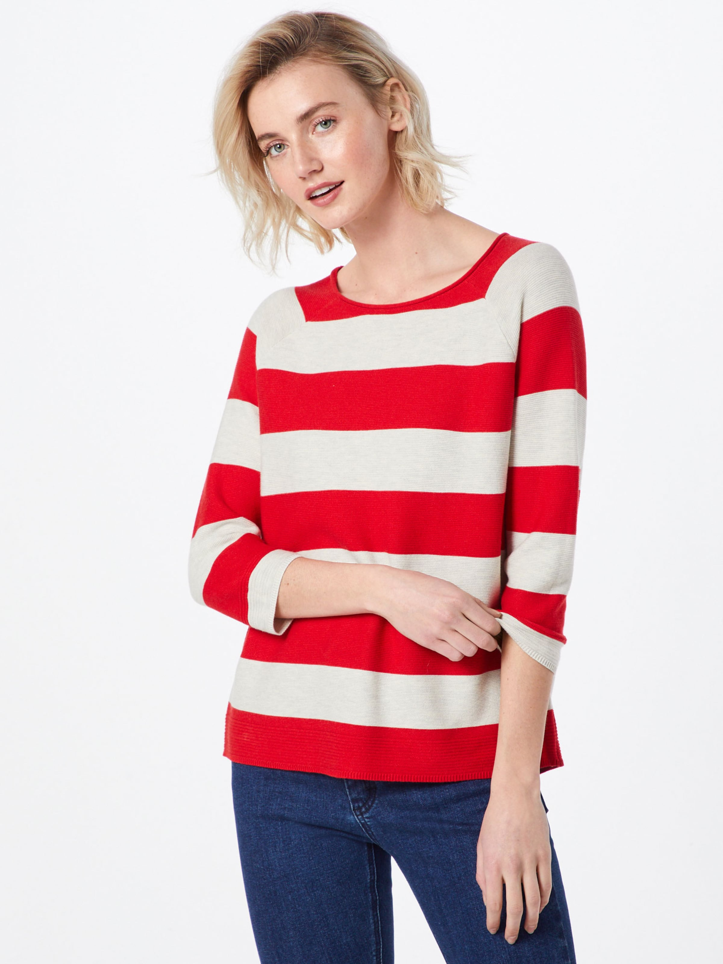 oliver S Label Pullover In Red RotWei Nnm0v8w