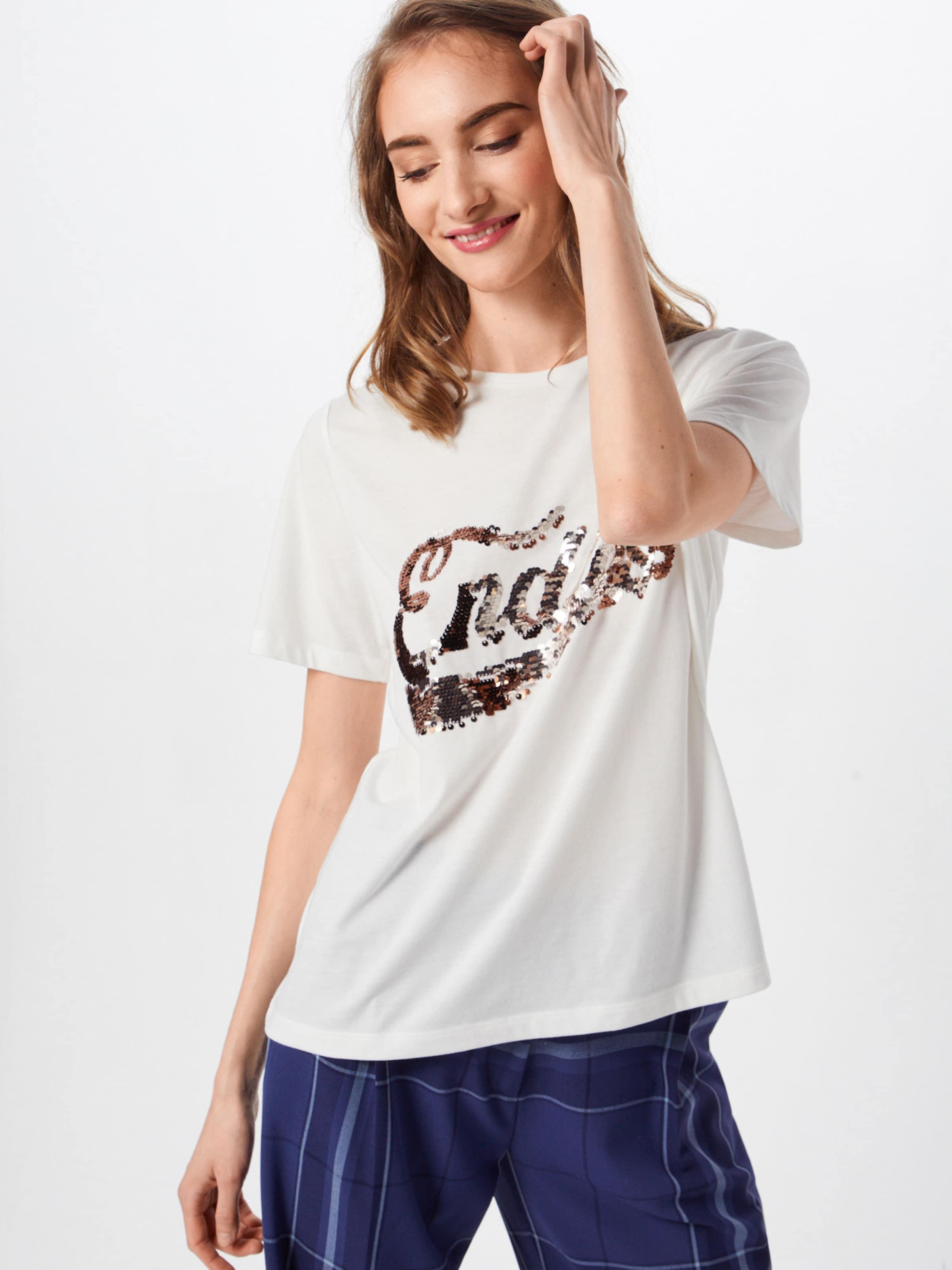 Vila BronzeNoir shirt En T 'paige' pzMSUV