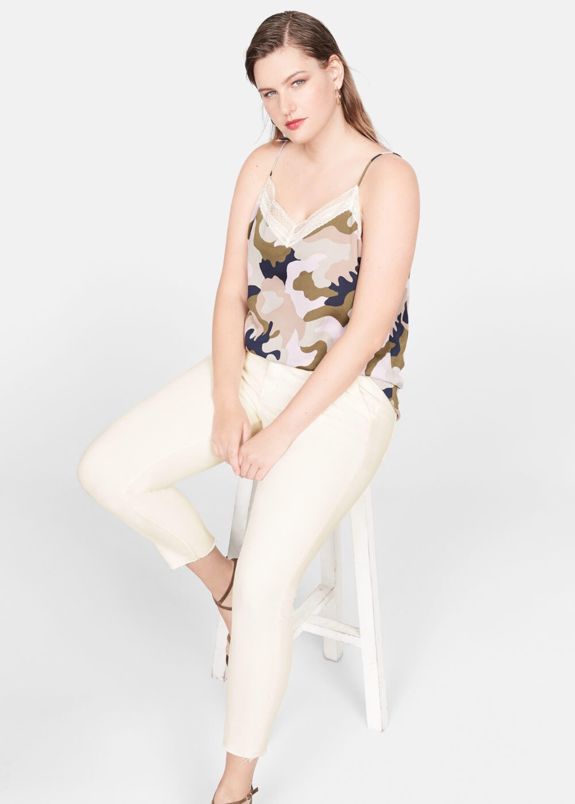 Jeans 'hueso' Nude In By Violeta Mango OPkiZXu