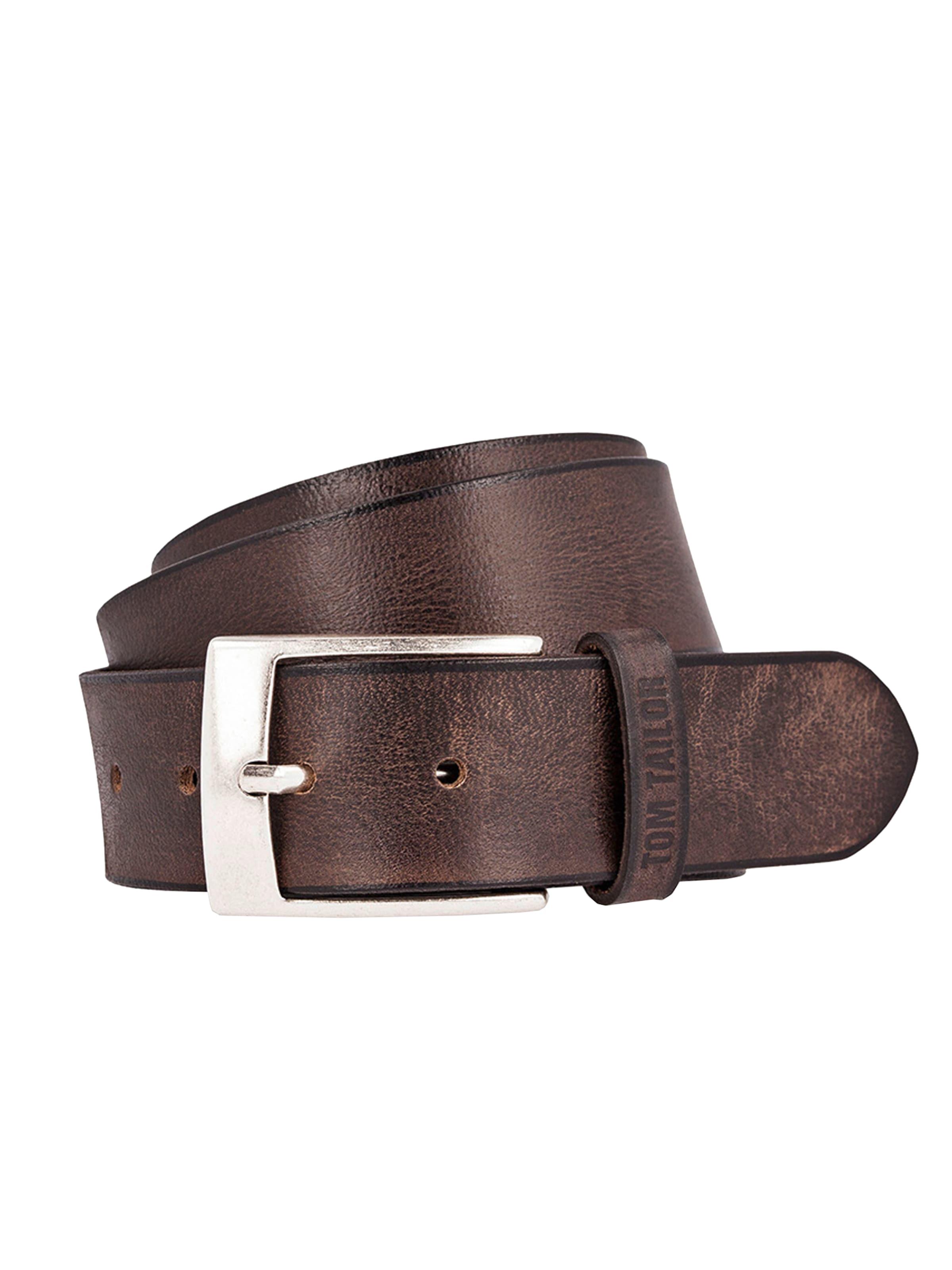 Tailor Fullgrain Ceinture Brun Foncé Tom 'used En Leather Belt' vy8n0NPmwO