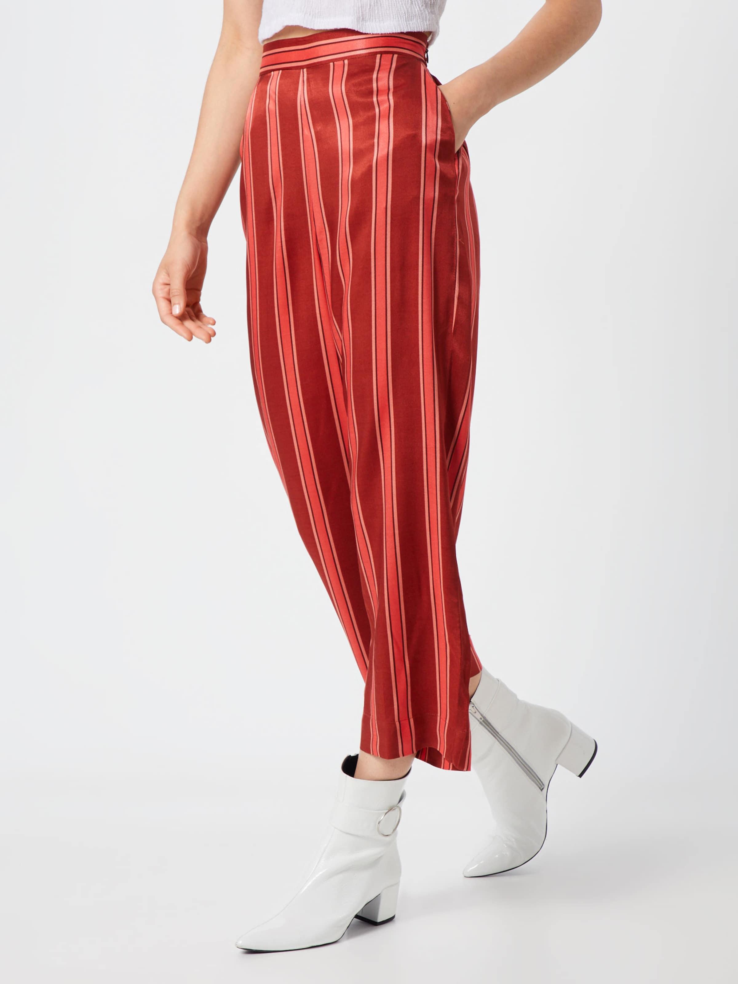 SaumonRouge Orangé En Soaked Pantalon 'salma' In Luxury kuZXOPi
