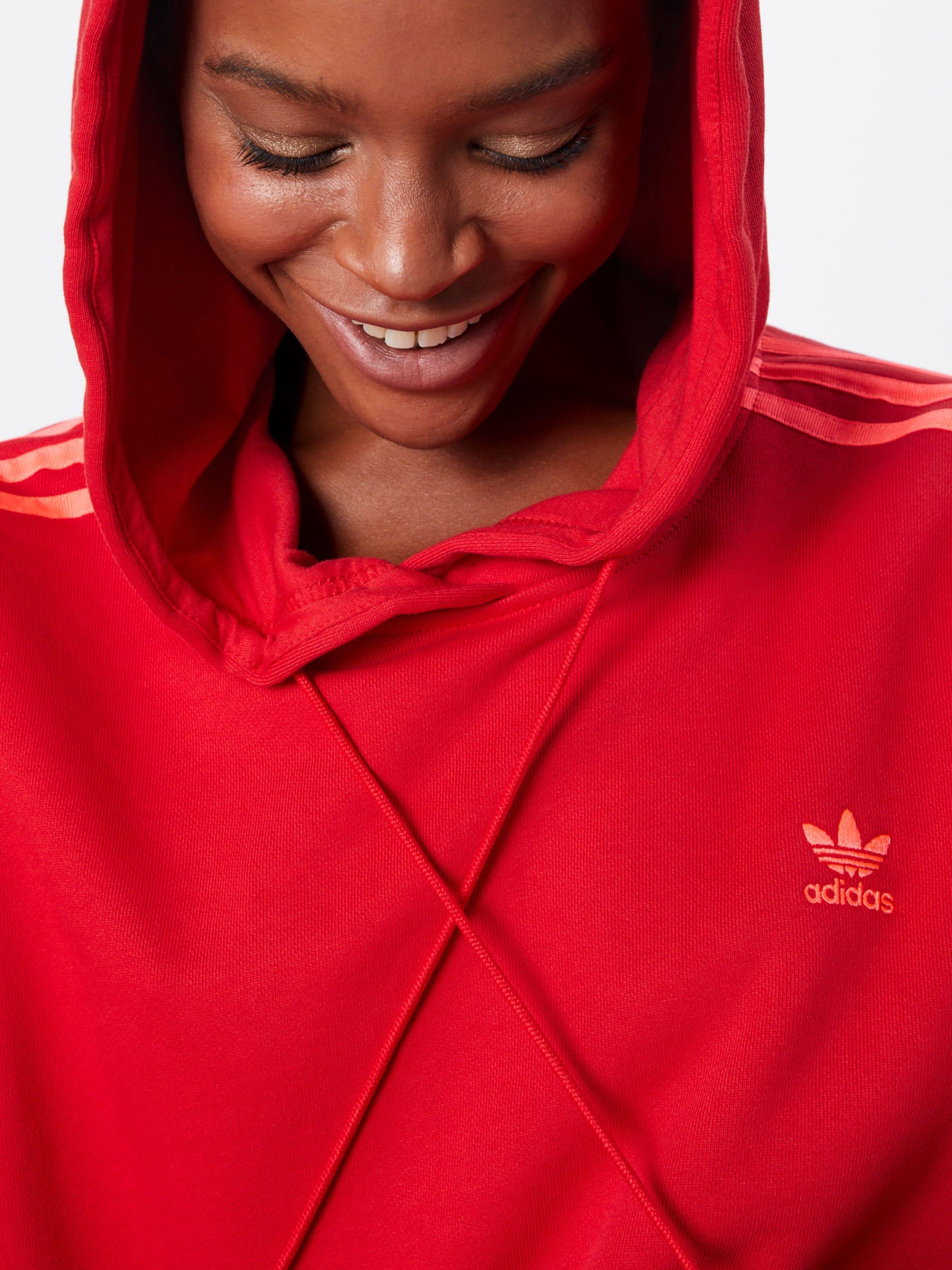 shirt Adidas Sweat Rouge En Originals EYWIDH29