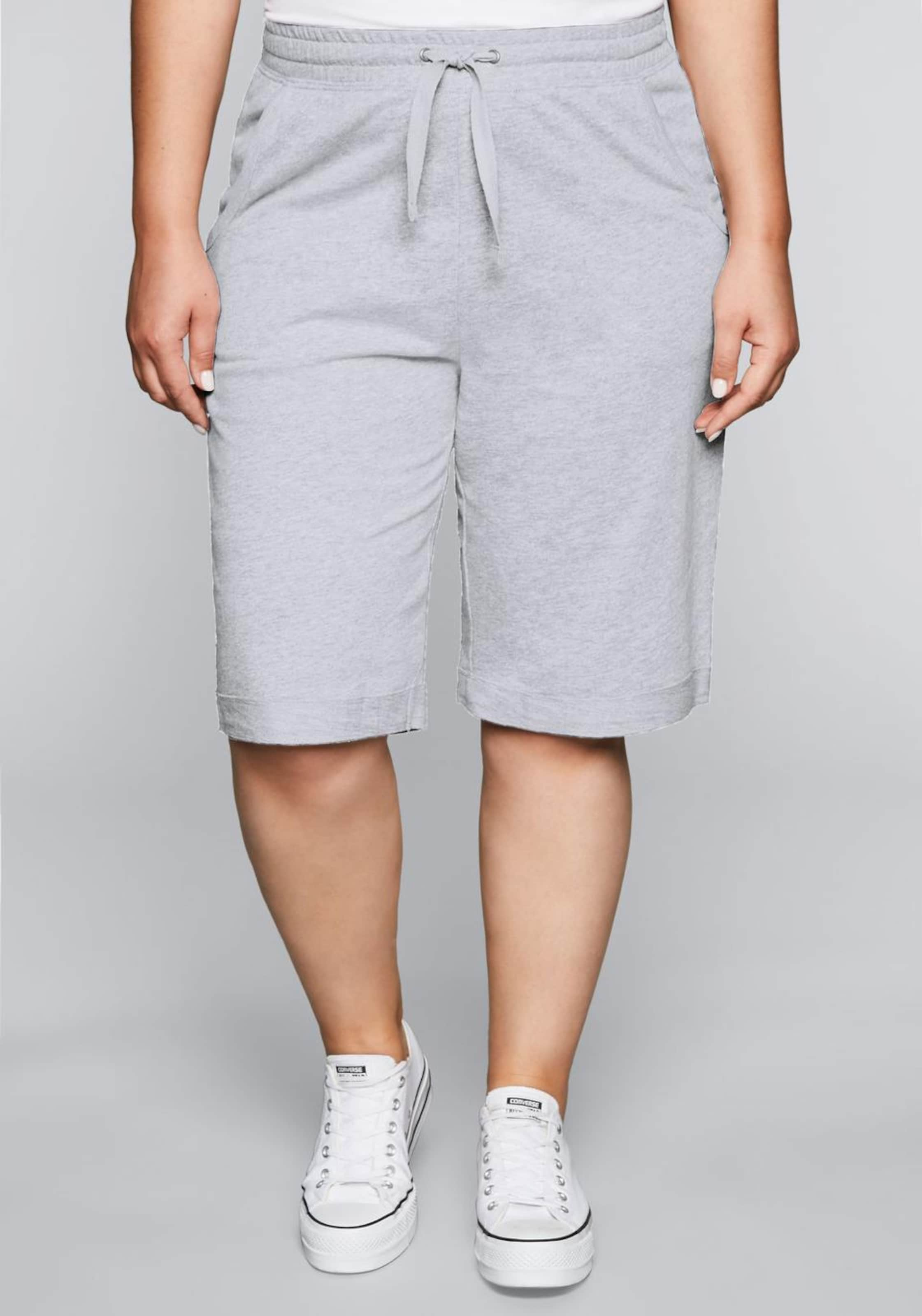 In Bermudas Grau Sheego Casual Sheego Casual Bermudas 0wOvN8mn