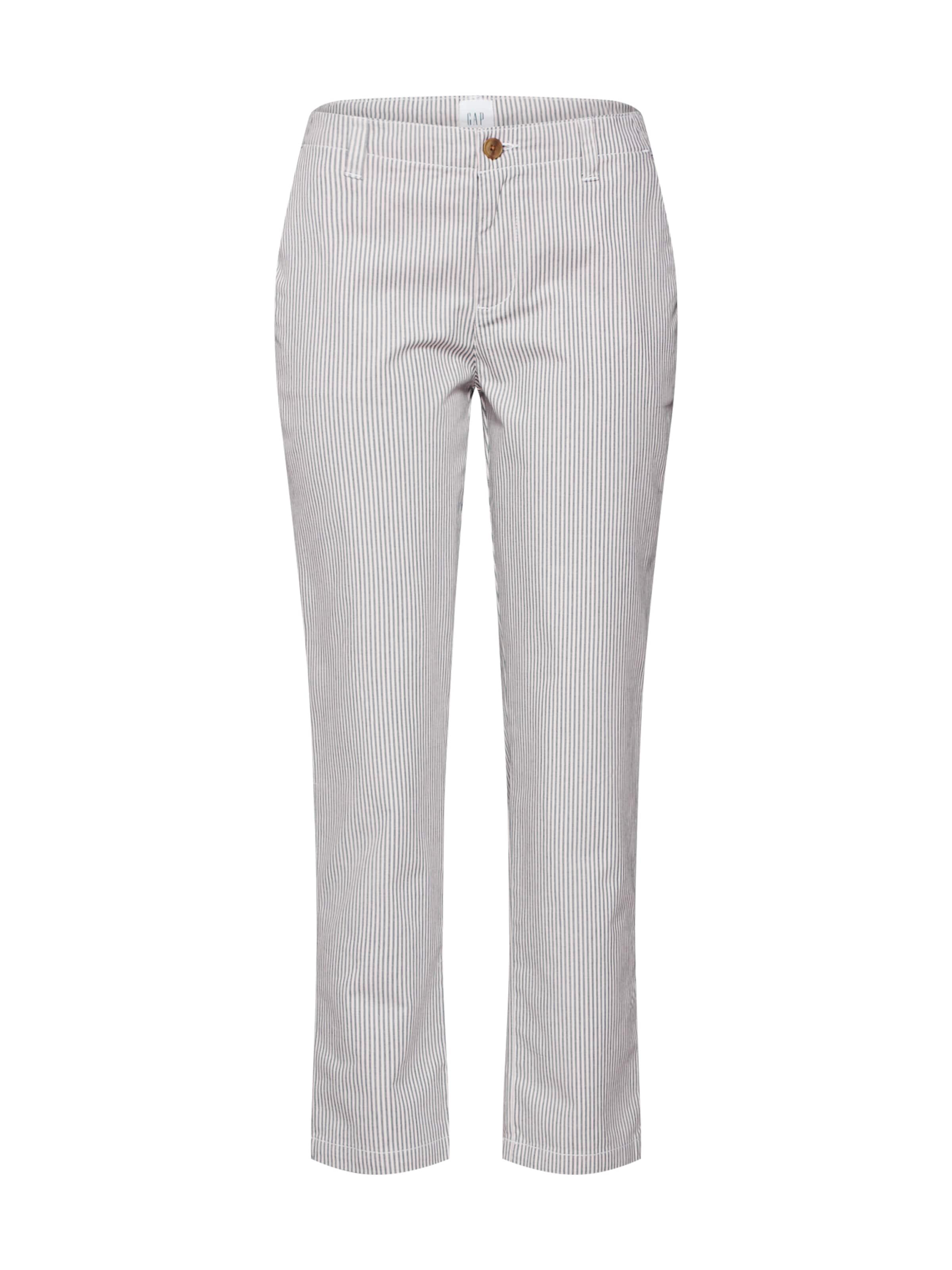 Pantalon Chino GrisBlanc Gap En OXwn0Pk8