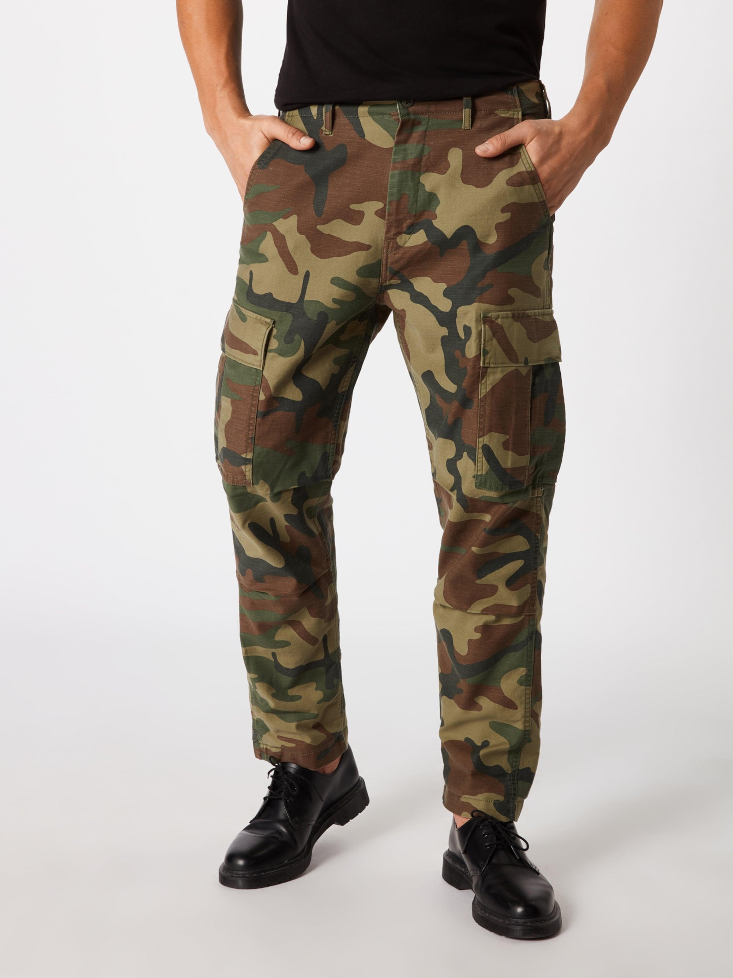 'hiballcargos' Pantalon Foncé En MarronVert Levi's Cargo lcK3TF1J