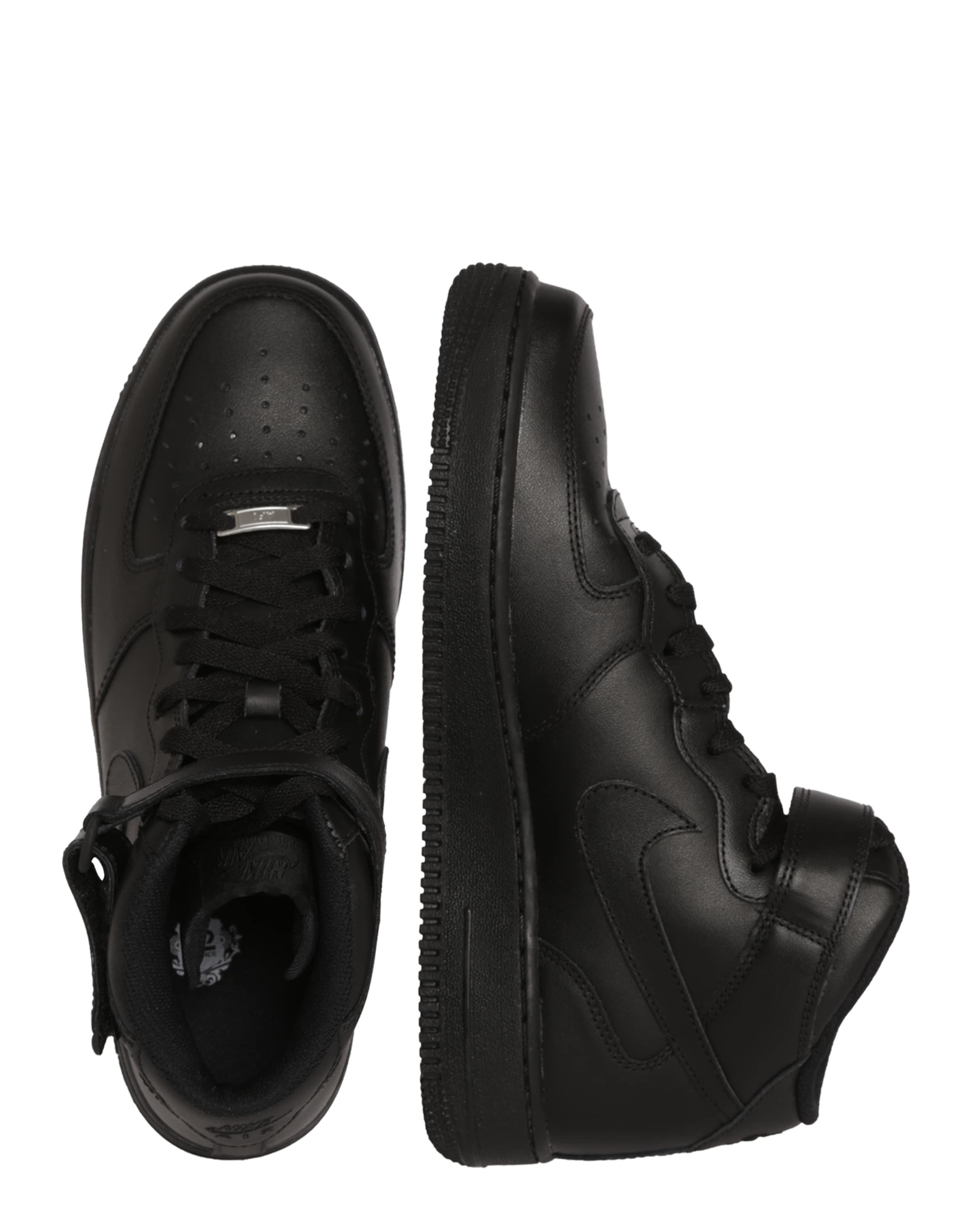 Baskets Nike Force Sportswear Hautes 'air En Mid' Noir qUzLSMpjVG