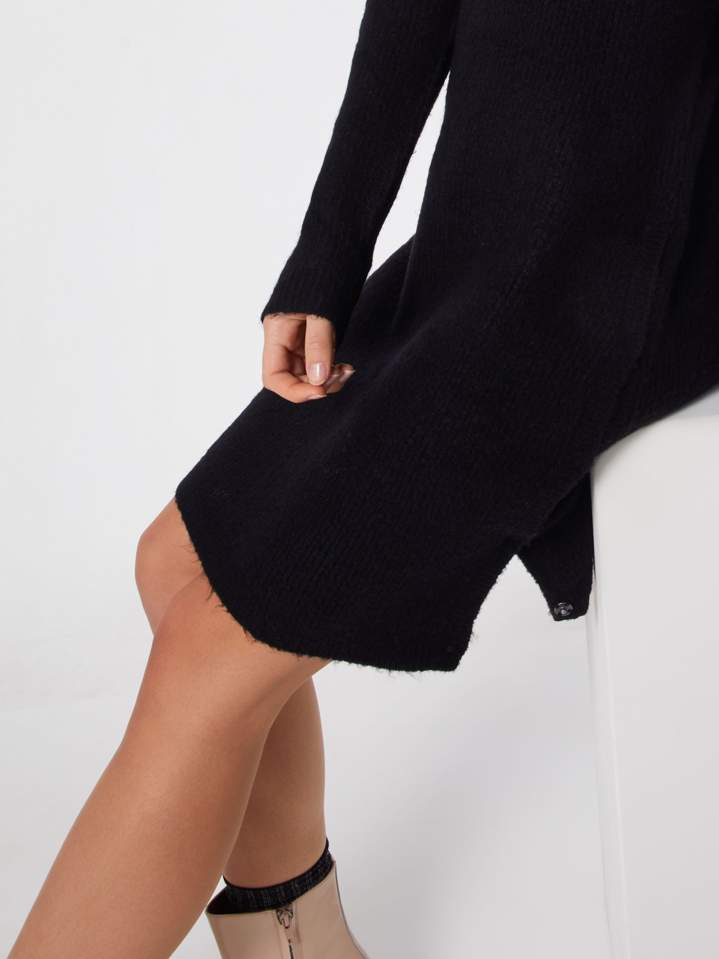 'button Kleid Dress' Eksept Schwarz In 8nwvmN0