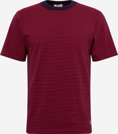 Armor Lux Shirt 'MC Rayé Héritage' in dunkelblau / rot, Produktansicht