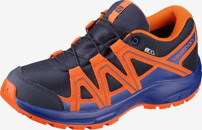 SALOMON Outdoorschuh 'Kicka' in marine / navy / orange, Produktansicht