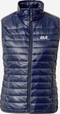 JACK WOLFSKIN Sports Vest in Blue