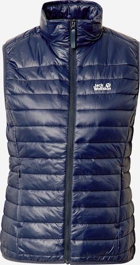 JACK WOLFSKIN Sportbodywarmer in de kleur Donkerblauw, Productweergave