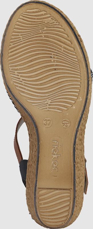RIEKER Sandale im Retro-Look