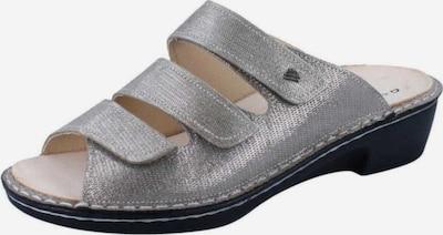 Finn Comfort Pantolette in silber, Produktansicht