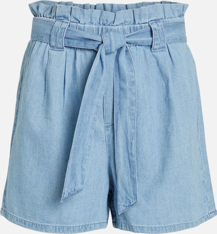 VILA Shorts in blue denim, Produktansicht