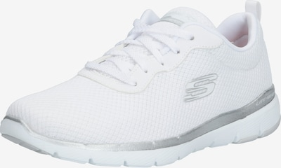fehér SKECHERS Rövid szárú edzőcipők 'Flex Appeal 3.0', Termék nézet