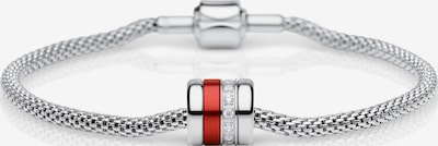 BERING Armband in rot / silber / transparent, Produktansicht