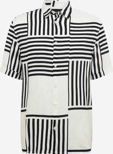 BURTON MENSWEAR LONDON Hemd 'SPLICE' in weiß, Produktansicht