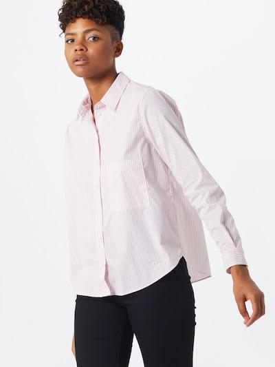BOSS Bluzka 'Ema' w kolorze różowy pudrowy / białym: Widok z przodu
