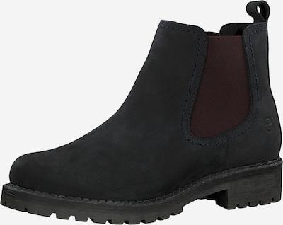 TAMARIS Chelsea Boot in kobaltblau / burgunder, Produktansicht
