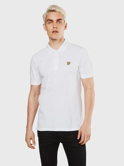 Lyle & Scott Poloshirt in weiß: Frontalansicht